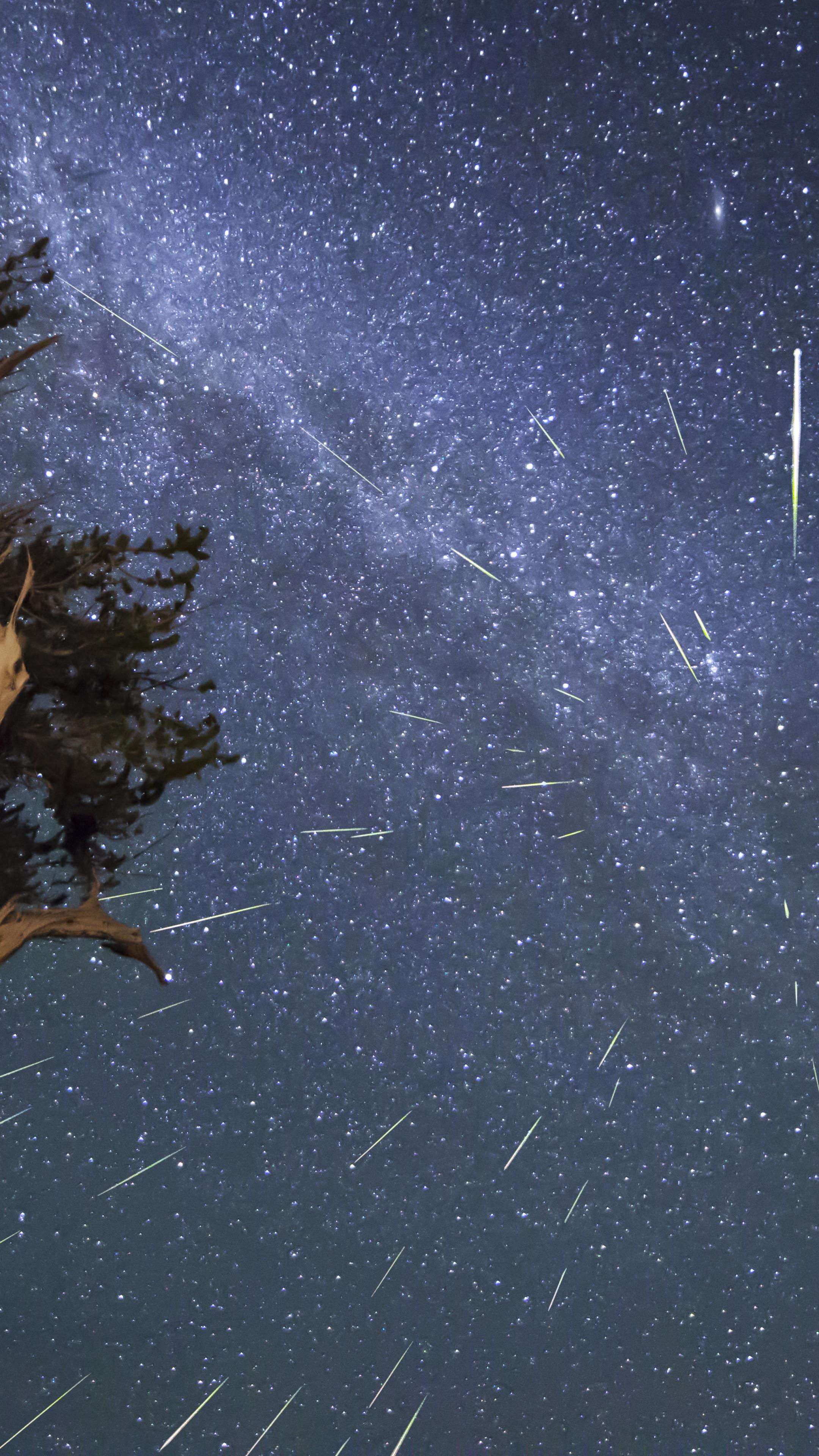 Meteor Shower Wallpaper ·①  Meteor Shower W...
