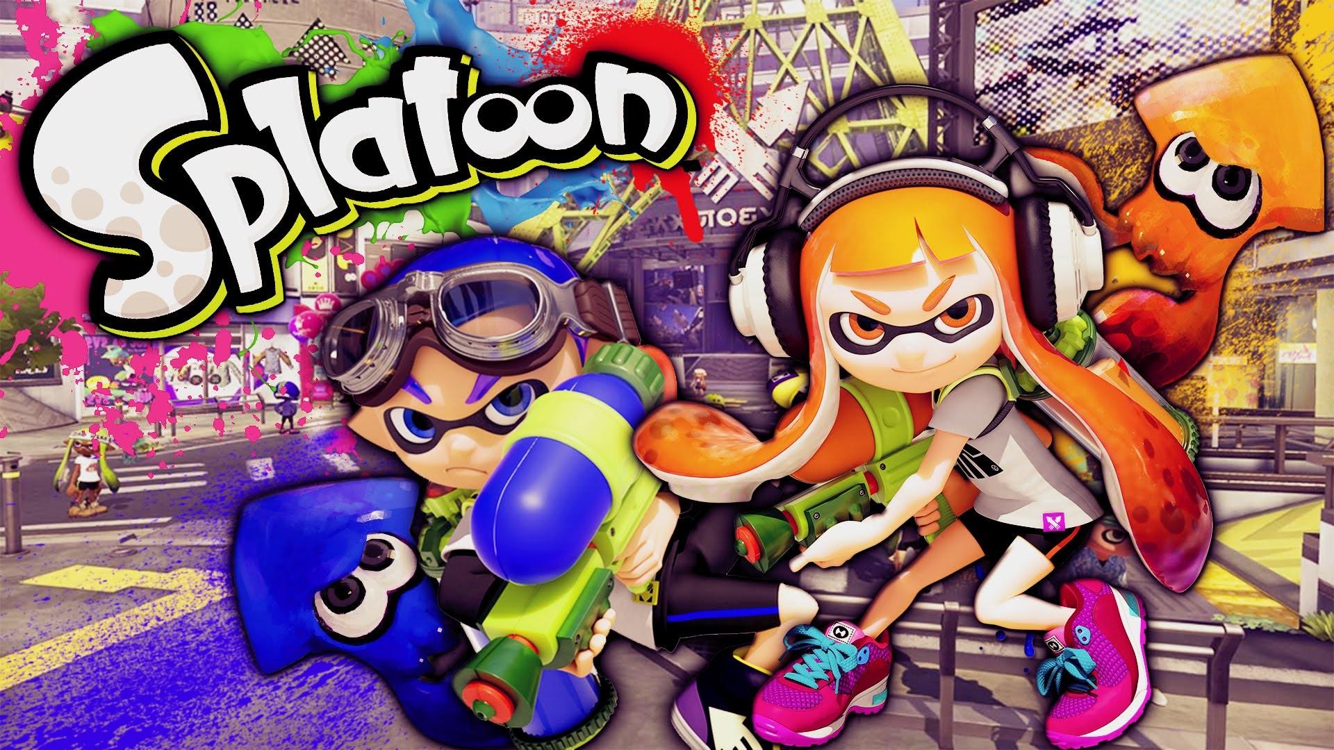 Splatoon Desktop Background Wallpaper #2 - Play Nintendo