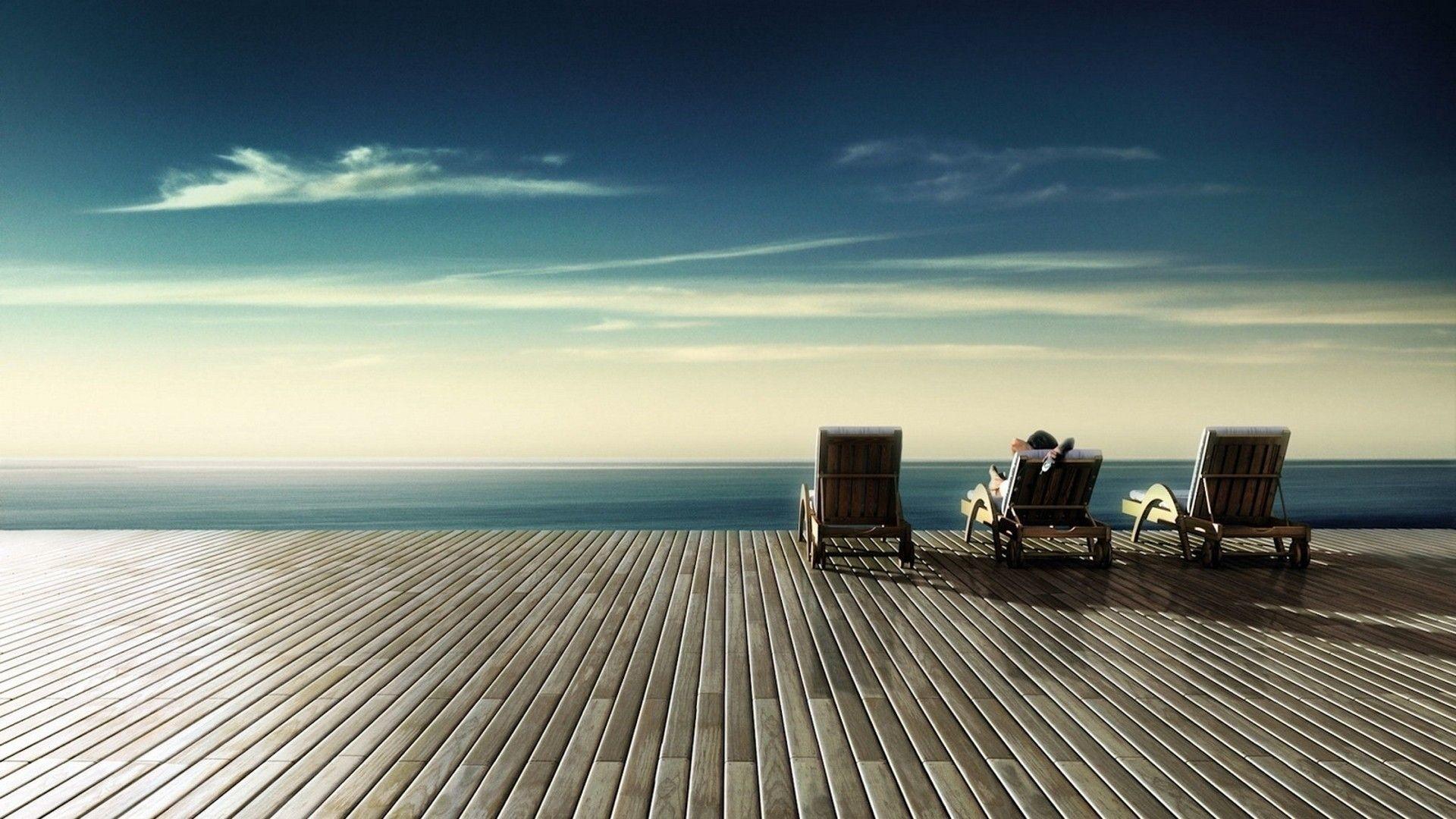 relaxing desktop background