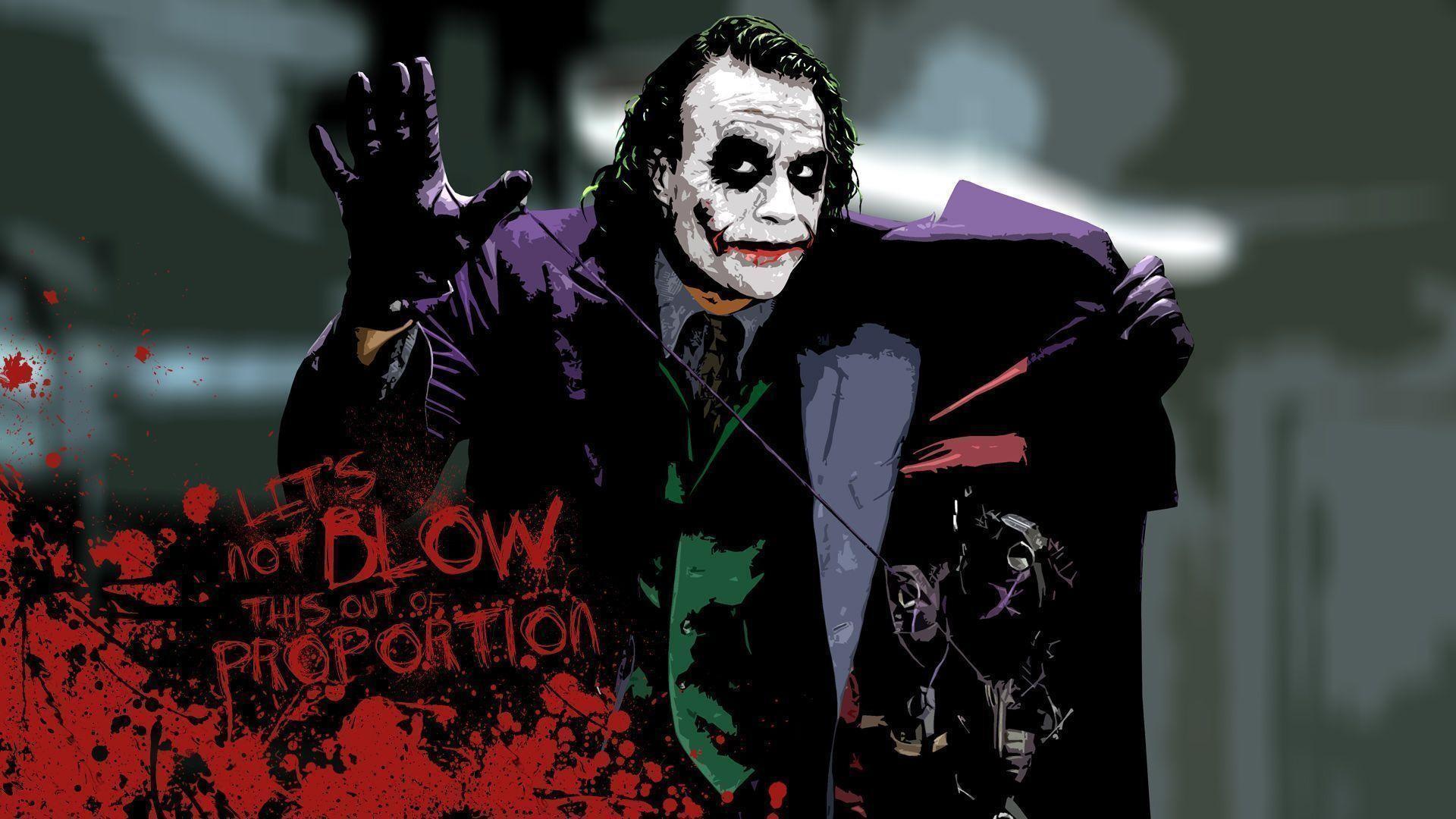 Heath Ledger Joker Wal...
