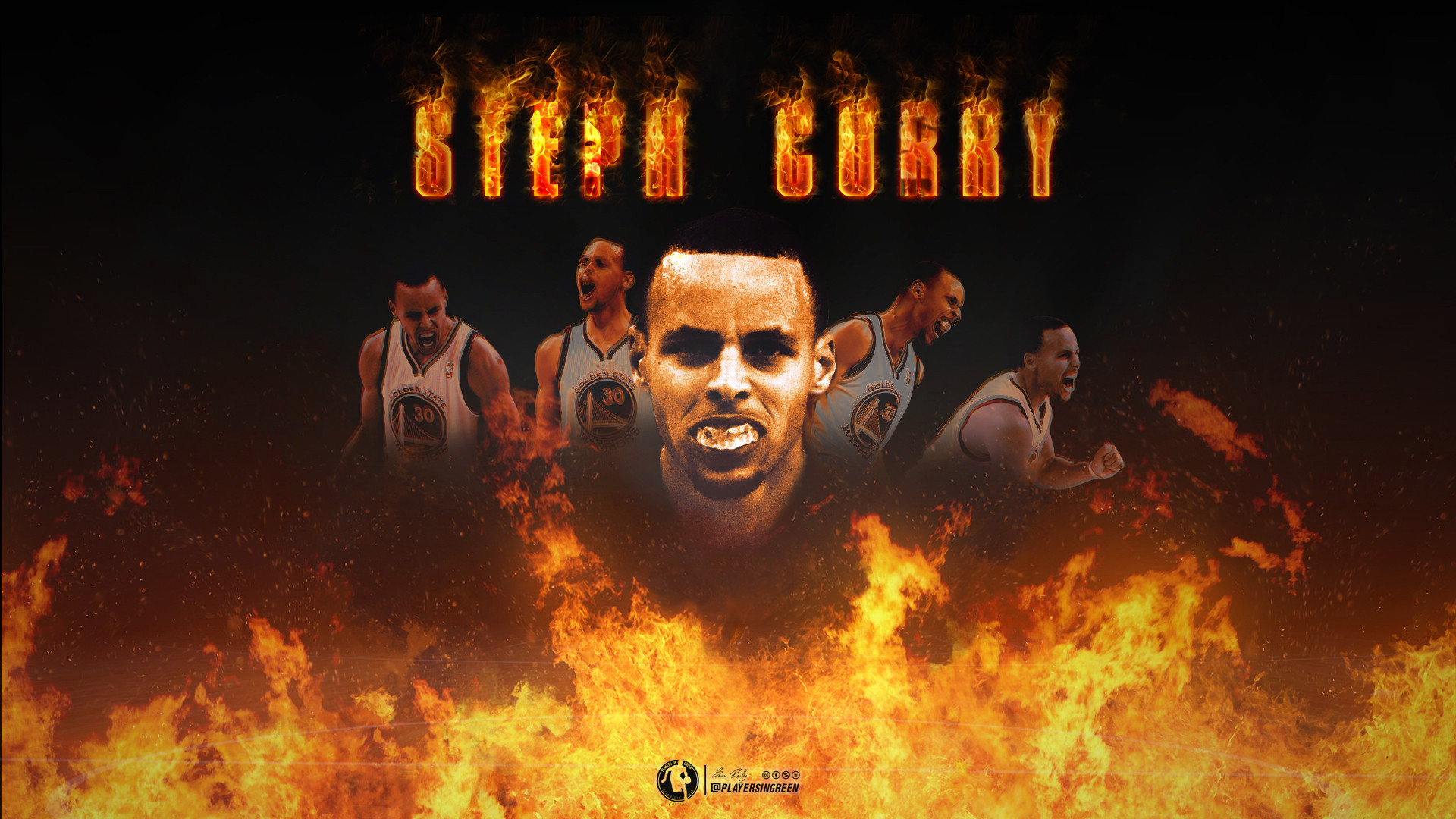 Stephen Curry Fire Wallpaper ·① WallpaperTag
