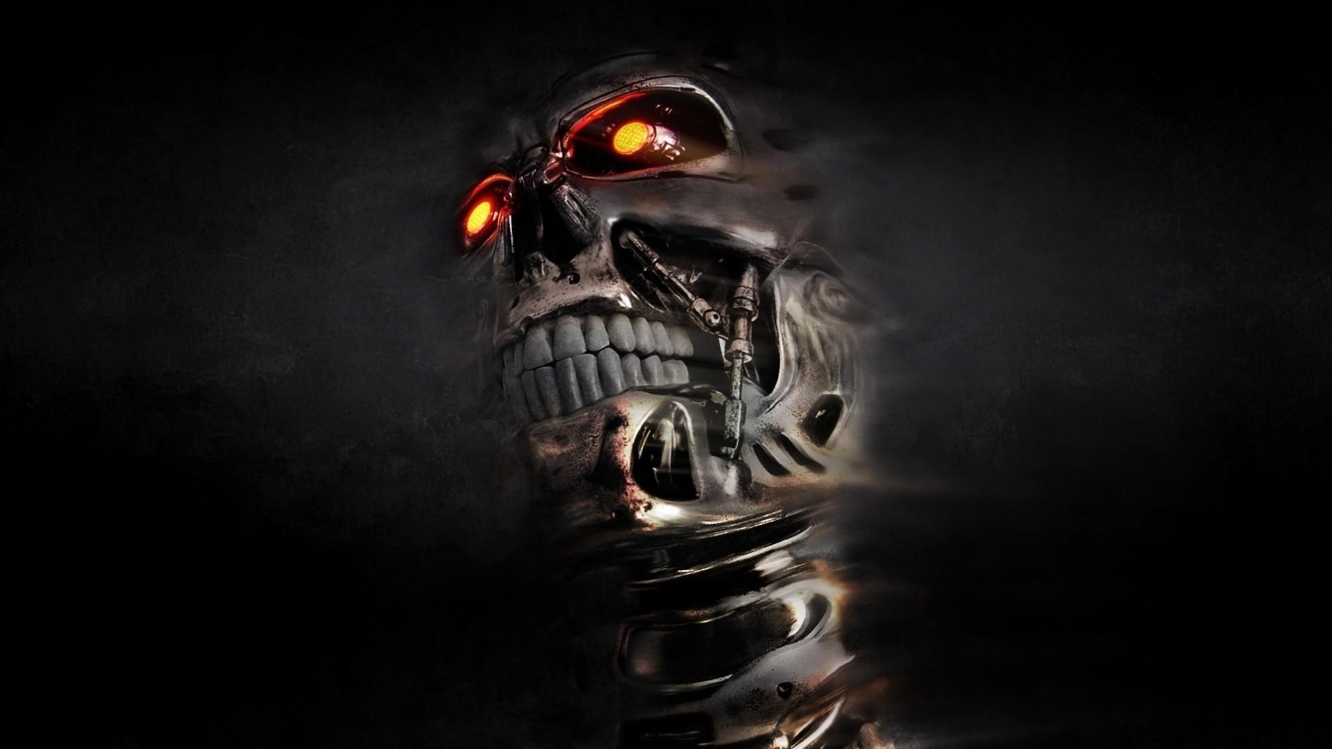 Skull Wallpaper 3D 1