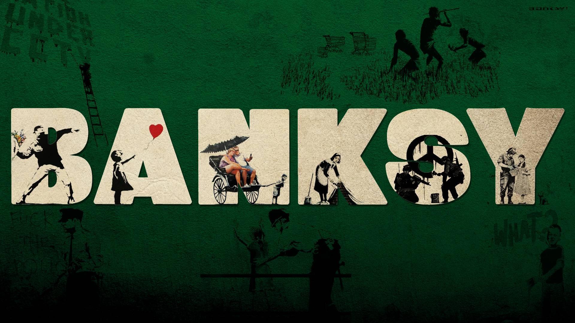 Banksy Wallpaper Download Free Full Hd Backgrounds For Desktop
