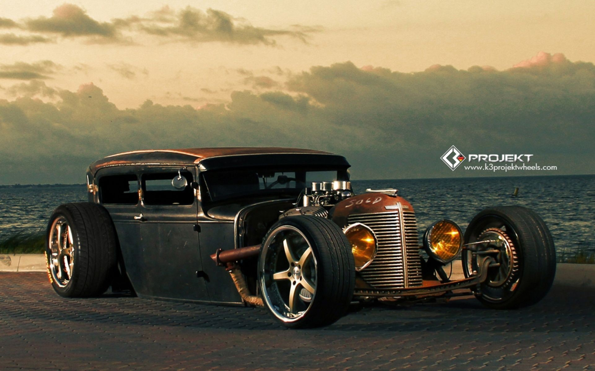Rat Rod Wallpapers Wallpapertag