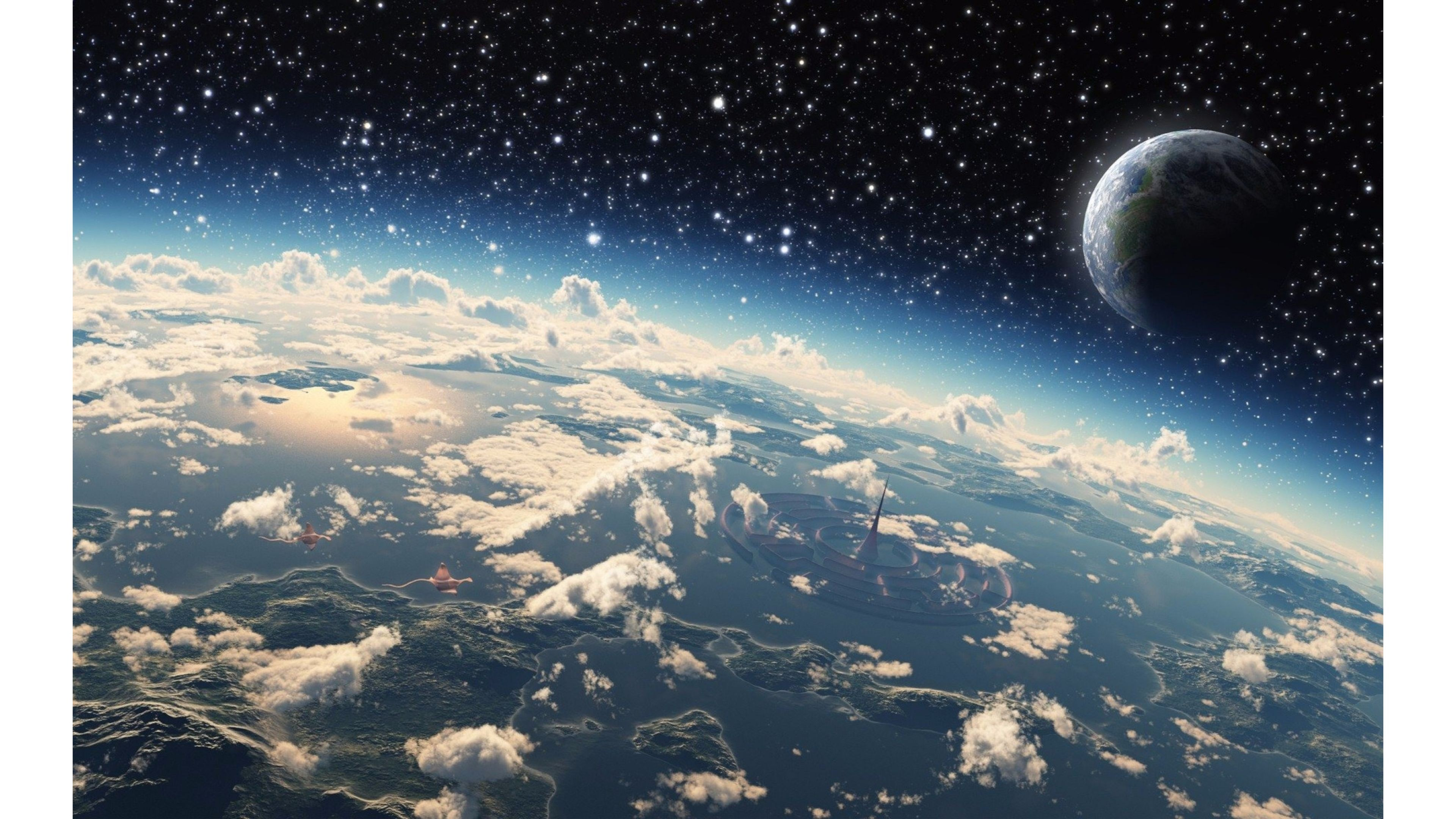 Space Wallpaper 4K ·① Download Free Awesome High
