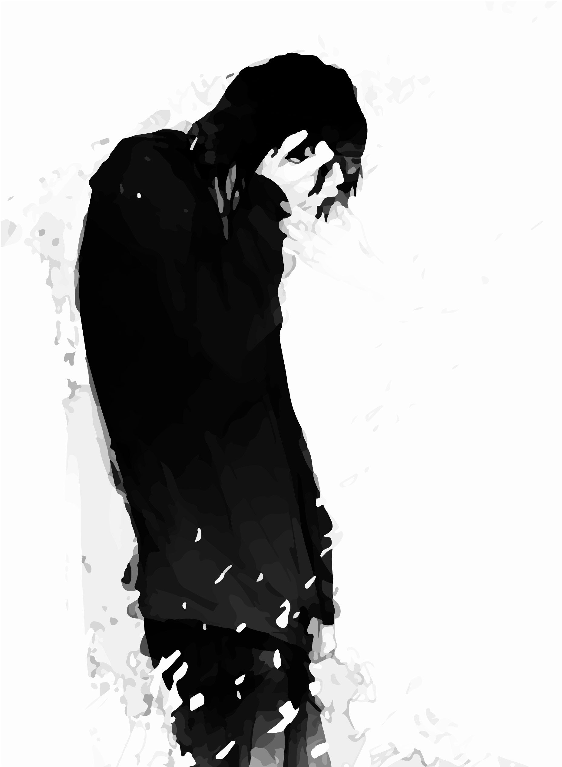 Sad Anime Boy Wallpaper