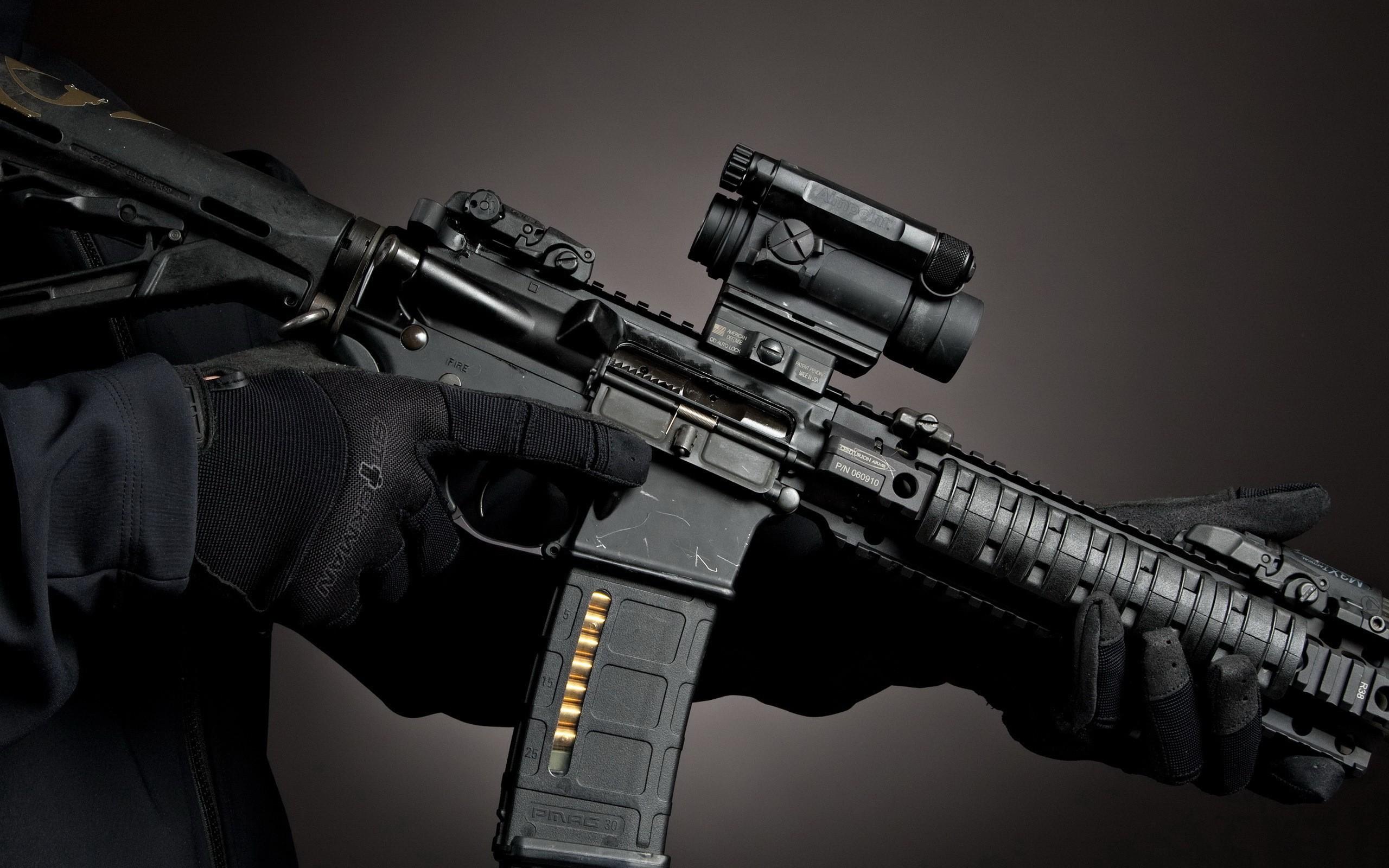 2560x1600 guns desktop background