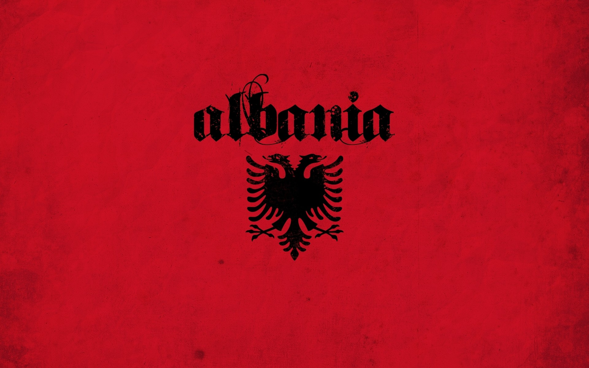 Flag Of Albania To Color