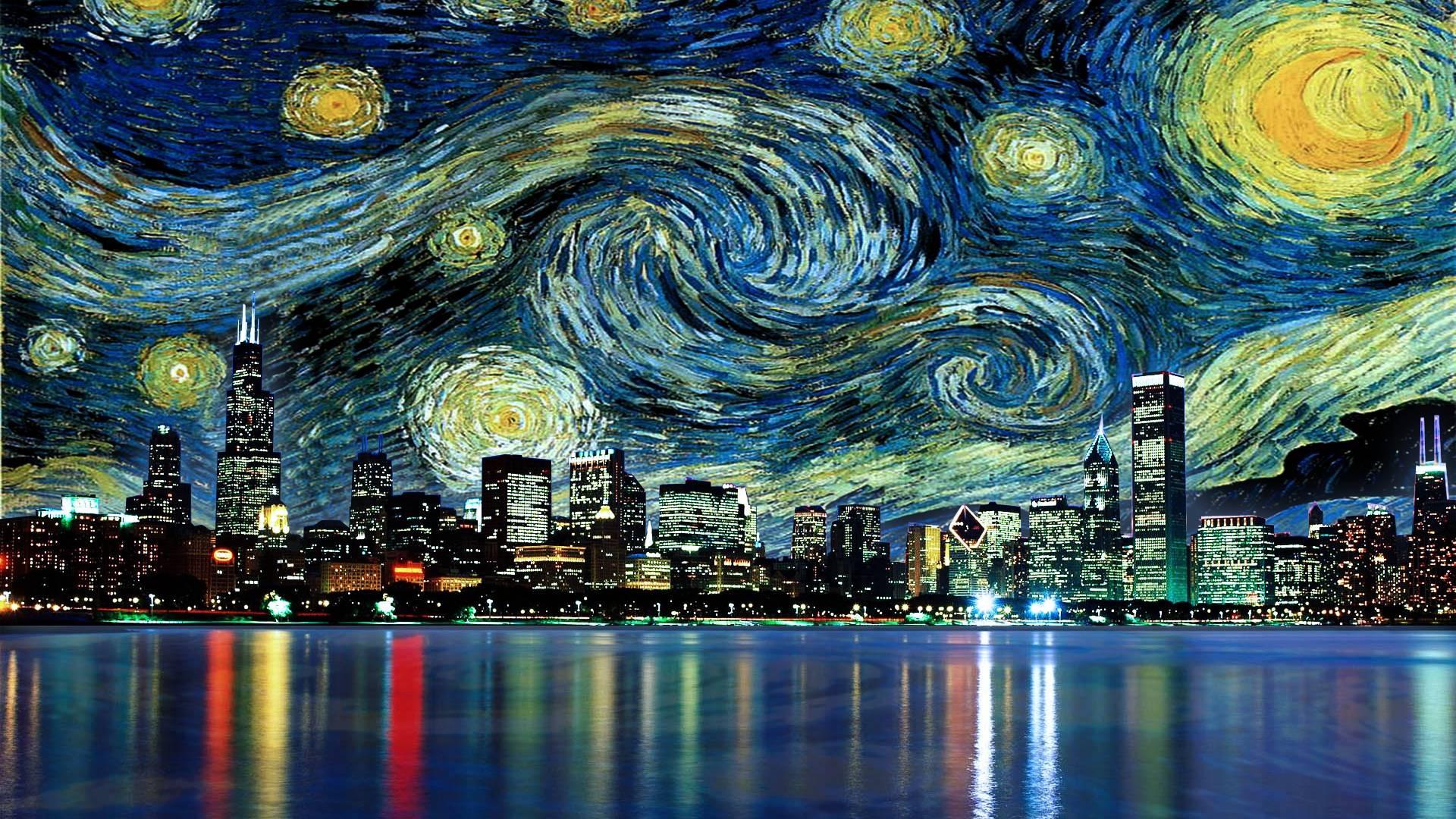 Starry Night wallpaper ·① Download free beautiful High ...