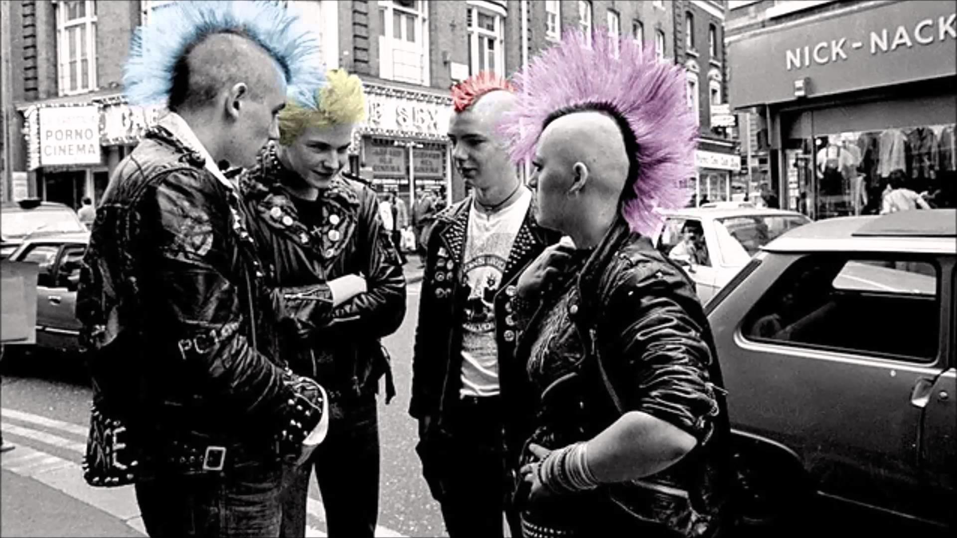 Anarchy Punk Wallpaper ·①