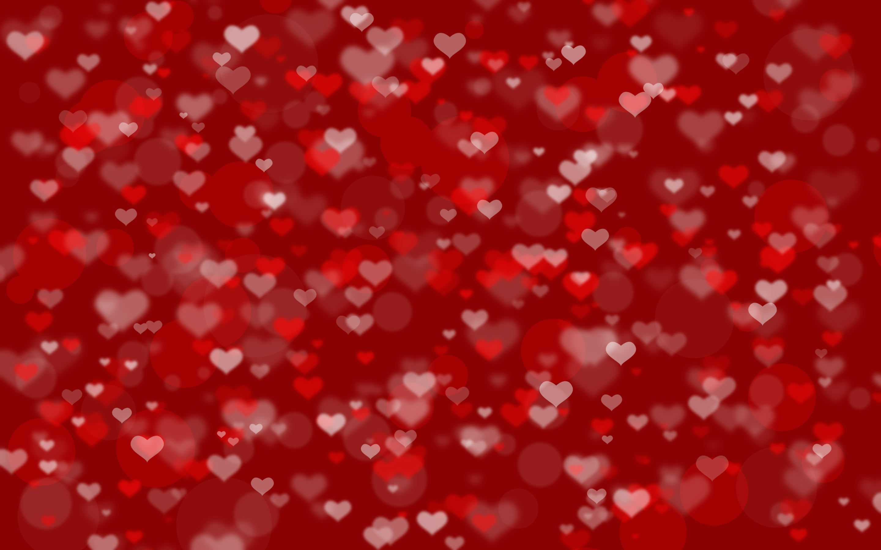 Red Hearts Background ·① WallpaperTag