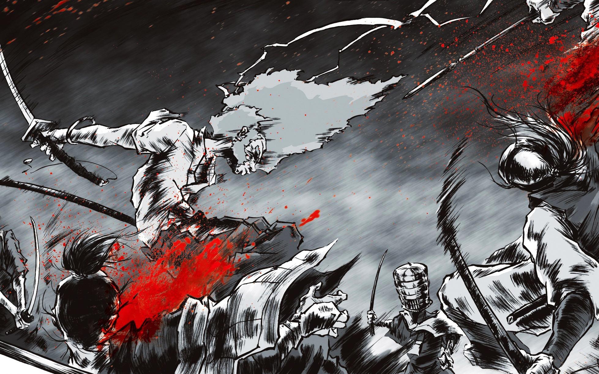 Epic Samurai Hd Wallpaper 1080p