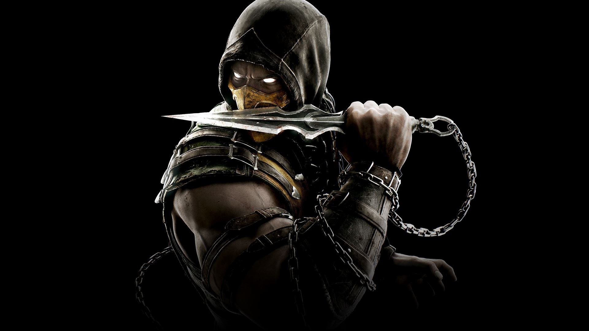 Mortal kombat 9 scorpion wallpaper wallpapertag - Mortal kombat scorpion wallpaper ...