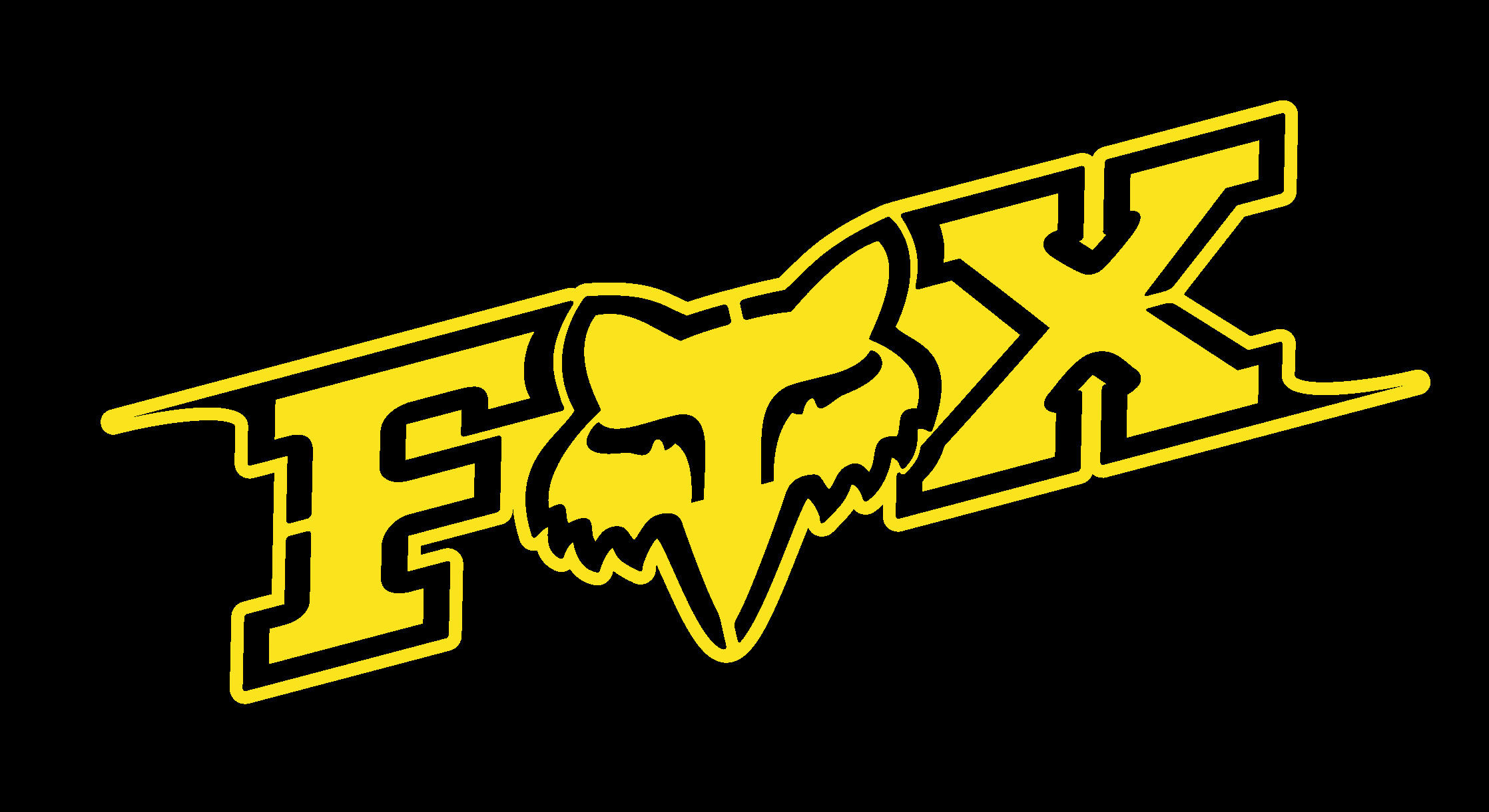 Fox Racing Logo Wallpaper ①