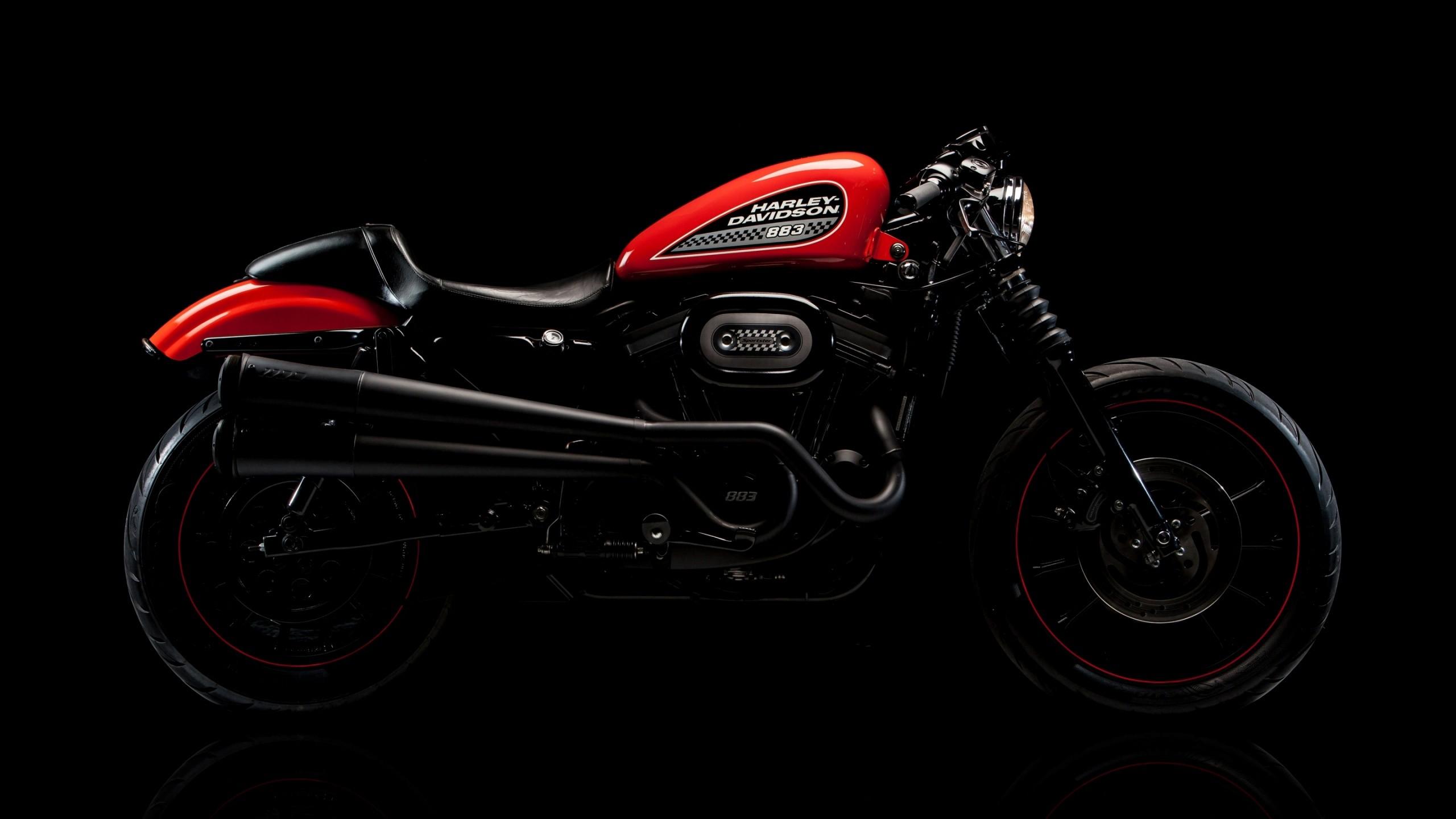 мотоцикл черный харлей  № 23780 бесплатно
