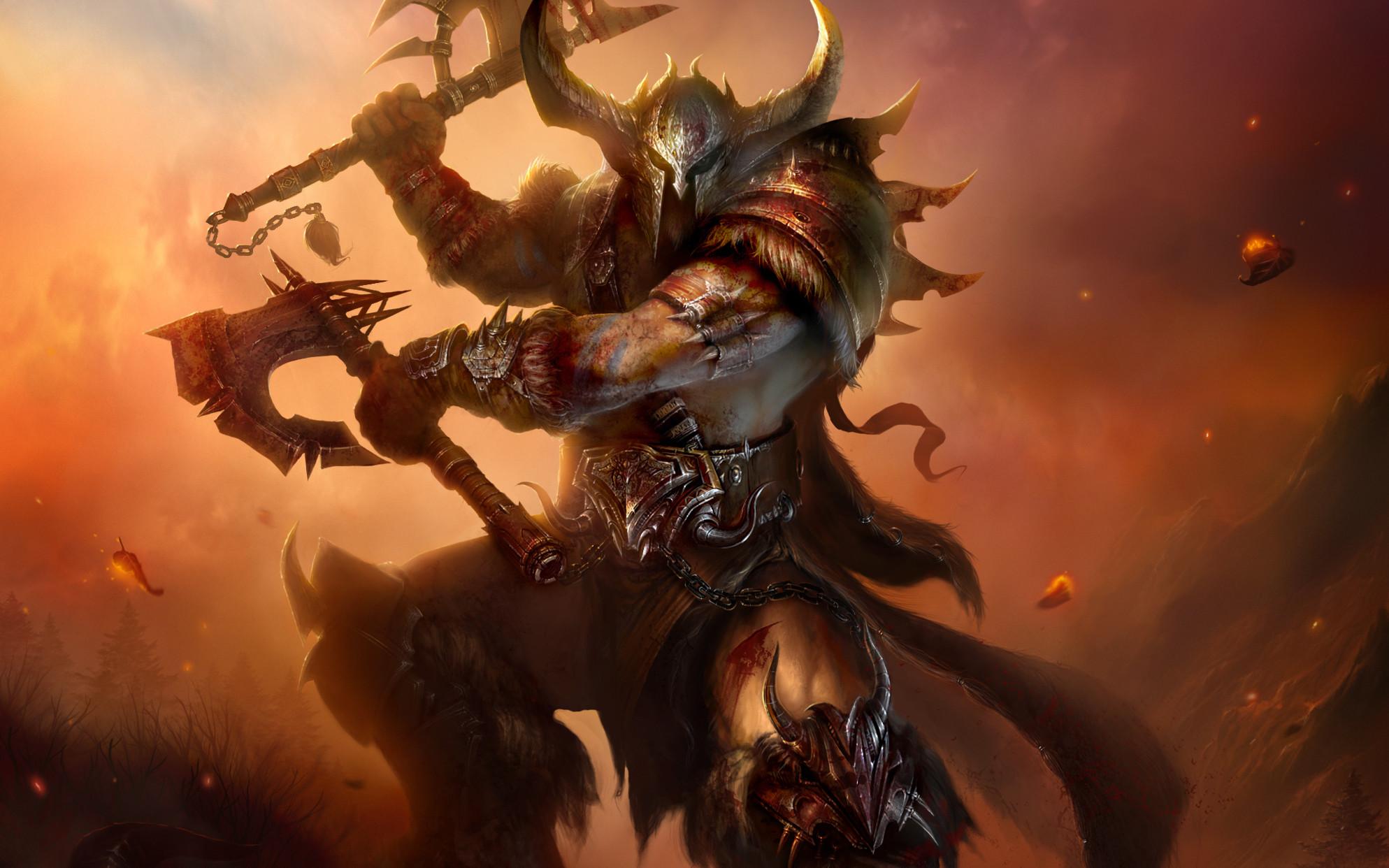 Diablo 3 Barbarian Wallpaper 1920x1080