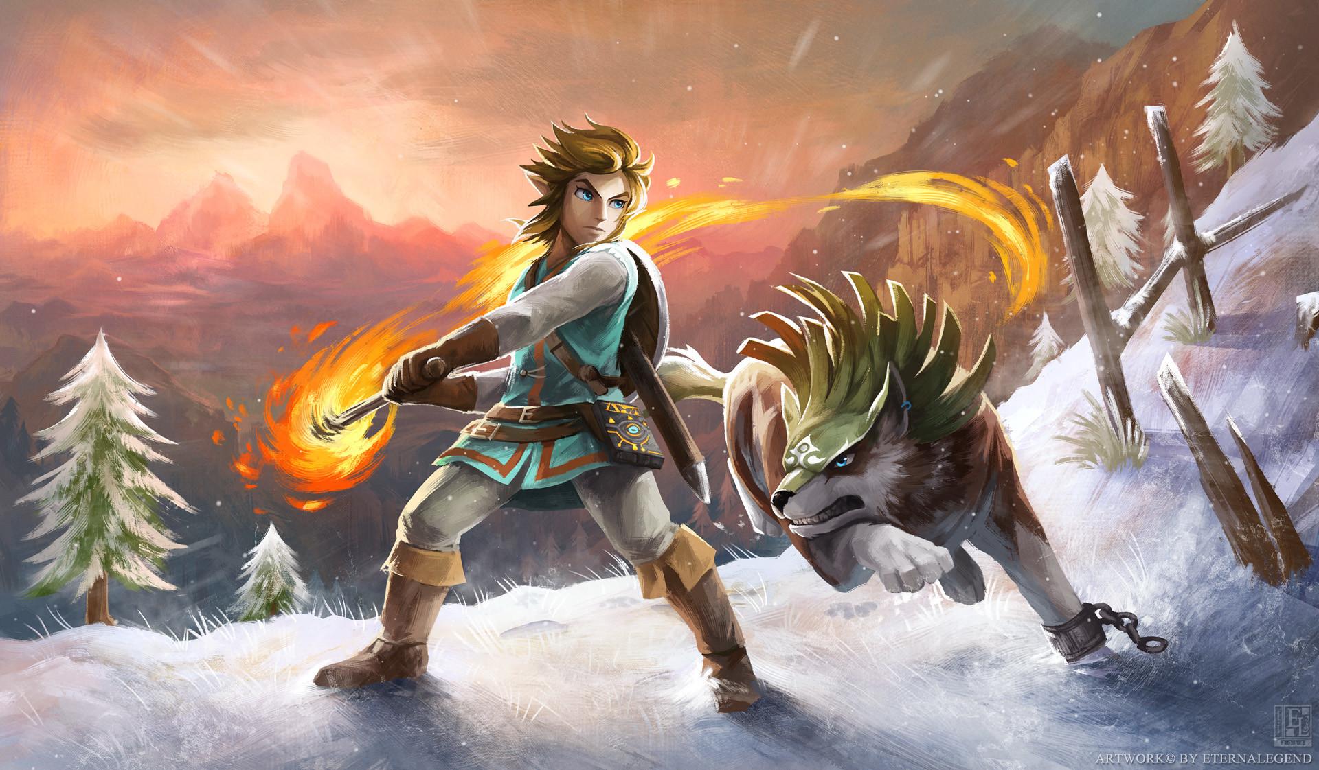 The Legend of Zelda Breath of the Wild Wallpapers ·① ...