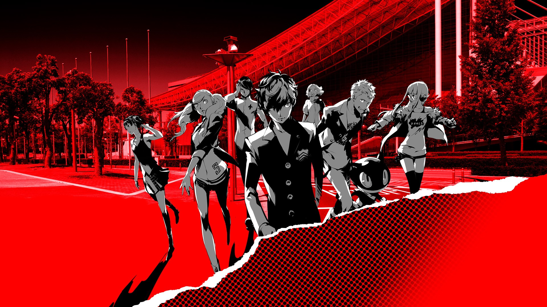 Persona 5 wallpaper download free full hd backgrounds - V wallpaper hd ...