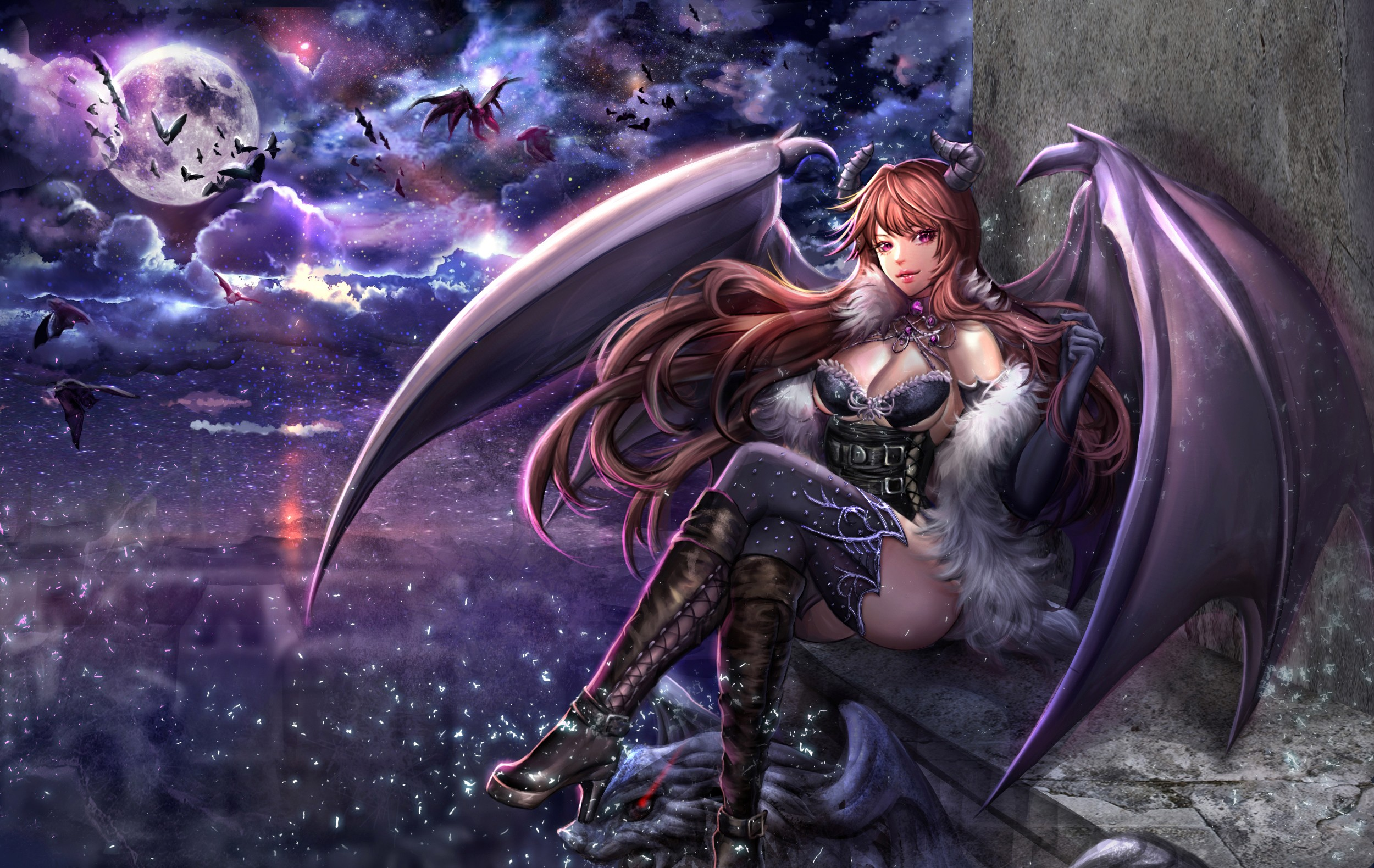 Succubus wallpaper download free high resolution wallpapers for 1920x1080 voltagebd Image collections