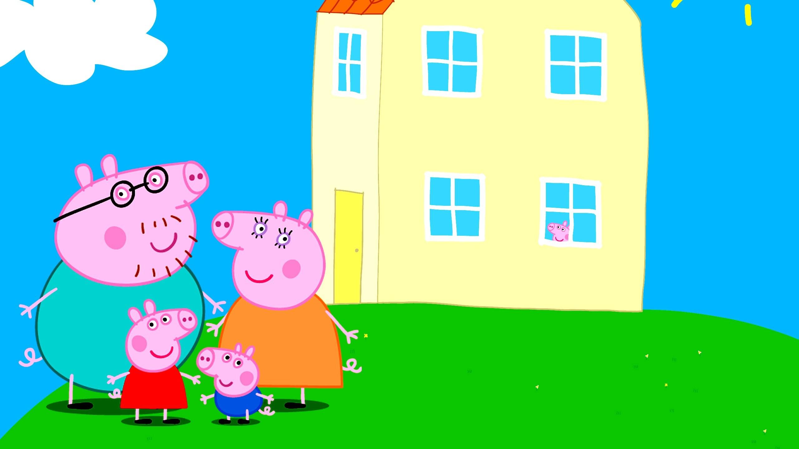Peppa Pig Wallpapers ①