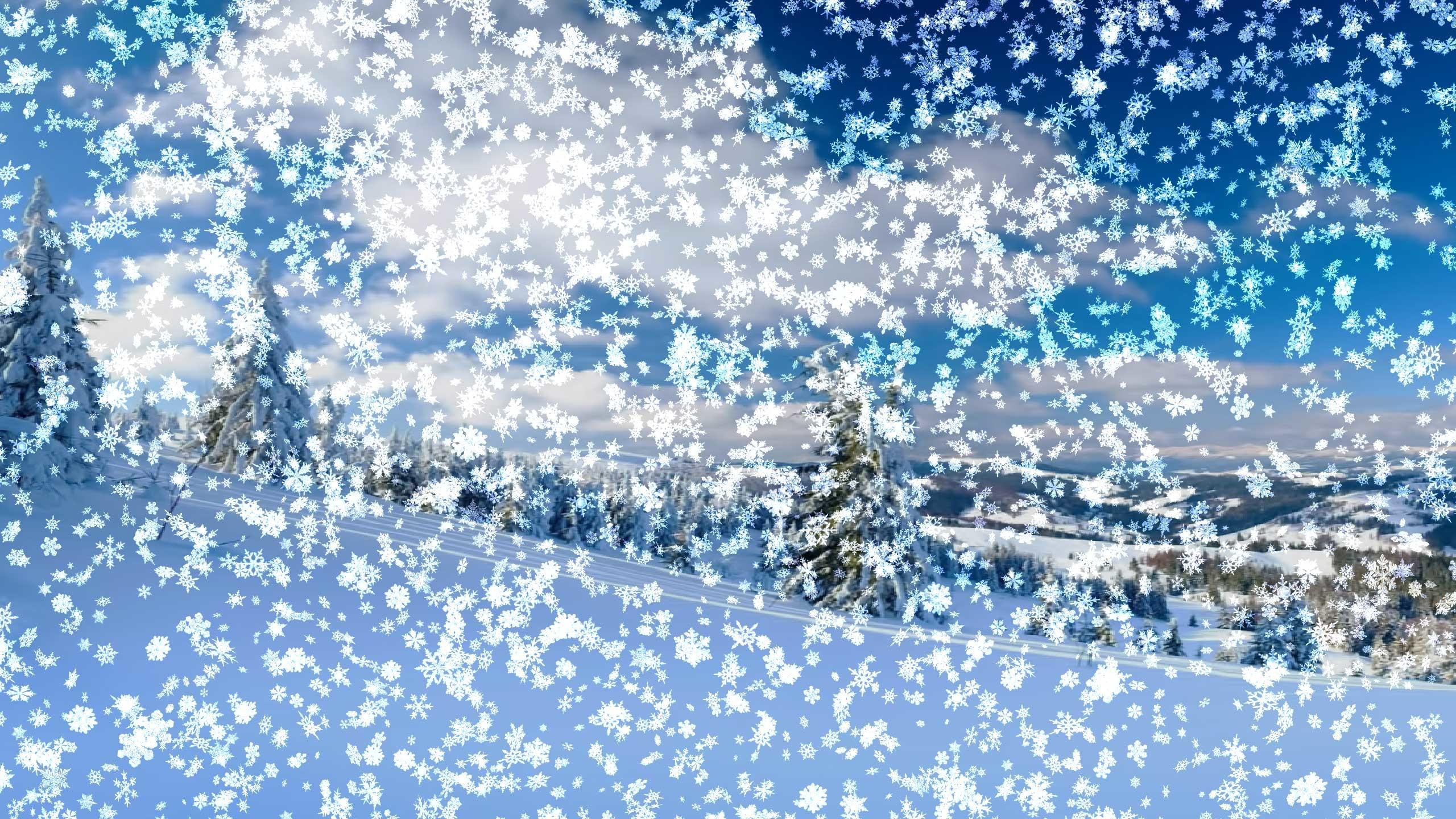 Картинки анимация снег идет