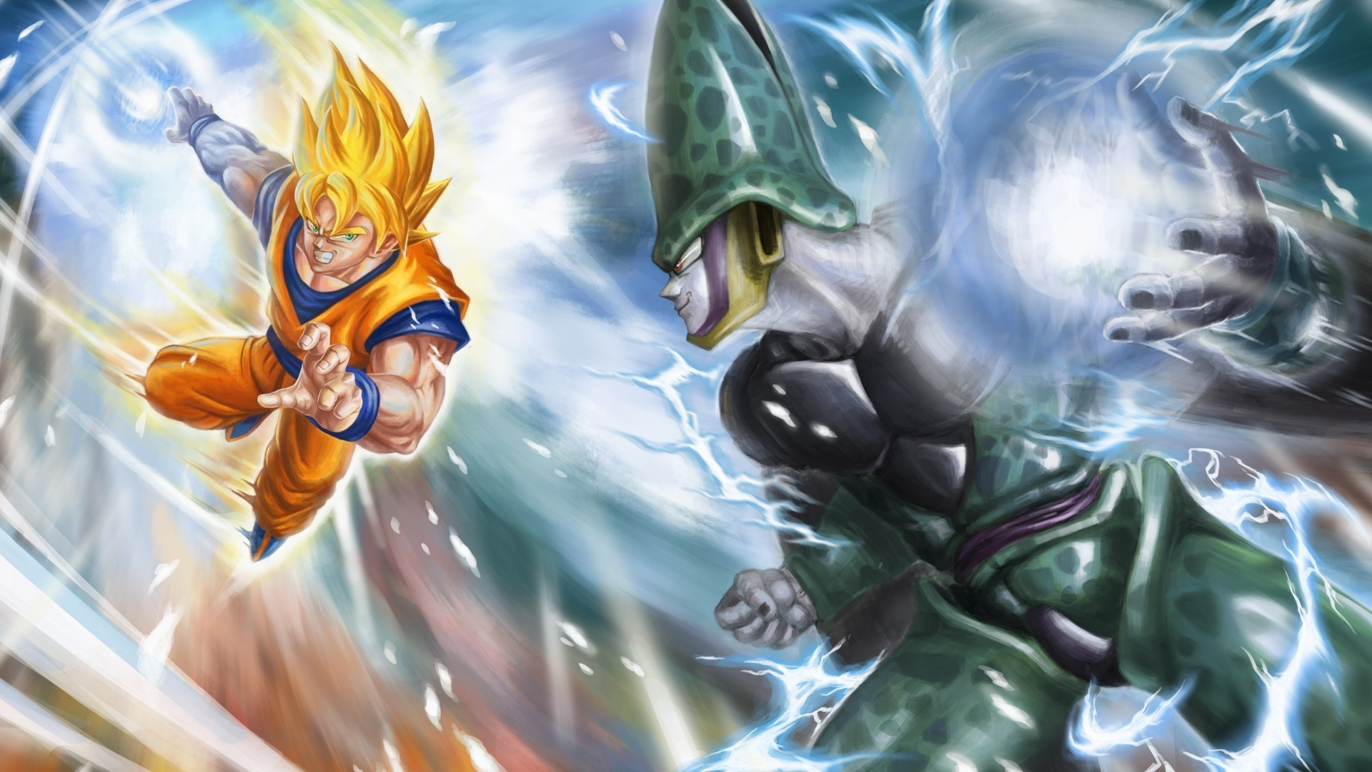 Cell dbz wallpapers wallpapertag - Vegeta wallpapers for mobile ...