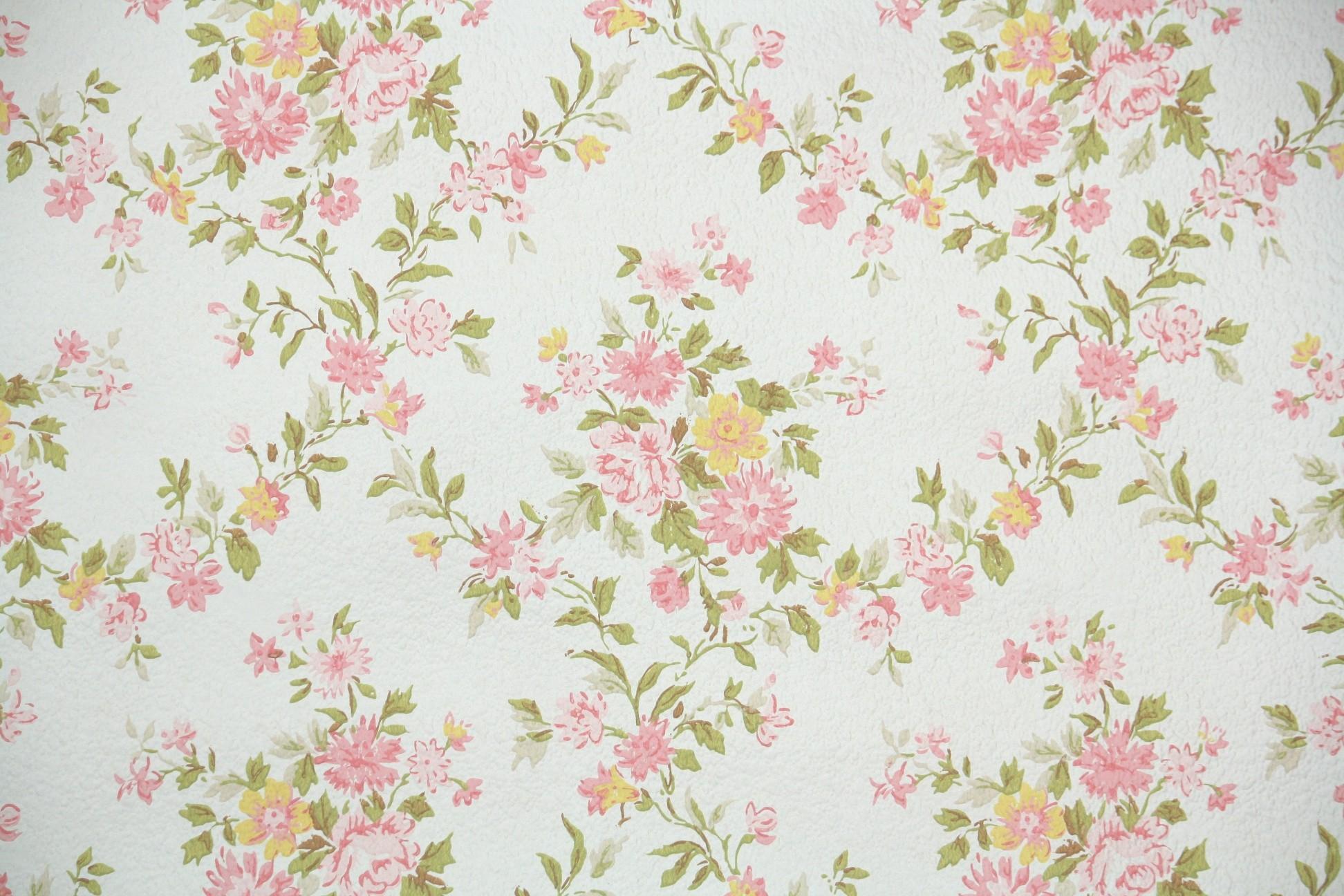 Vintage Floral Wallpaper Download Free Cool High Resolution