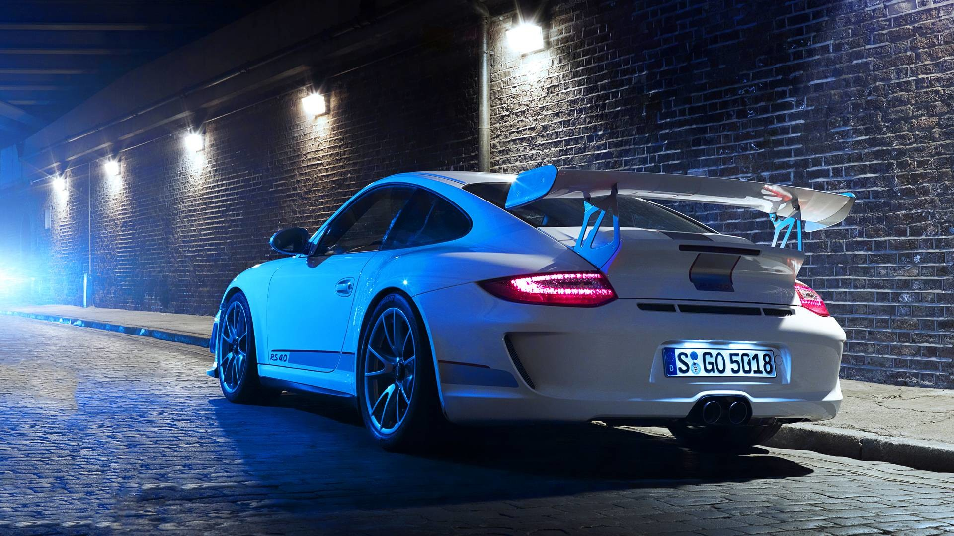 1920x1080 Porsche 911 Gt3 Rs White Wallpapers   Pictures