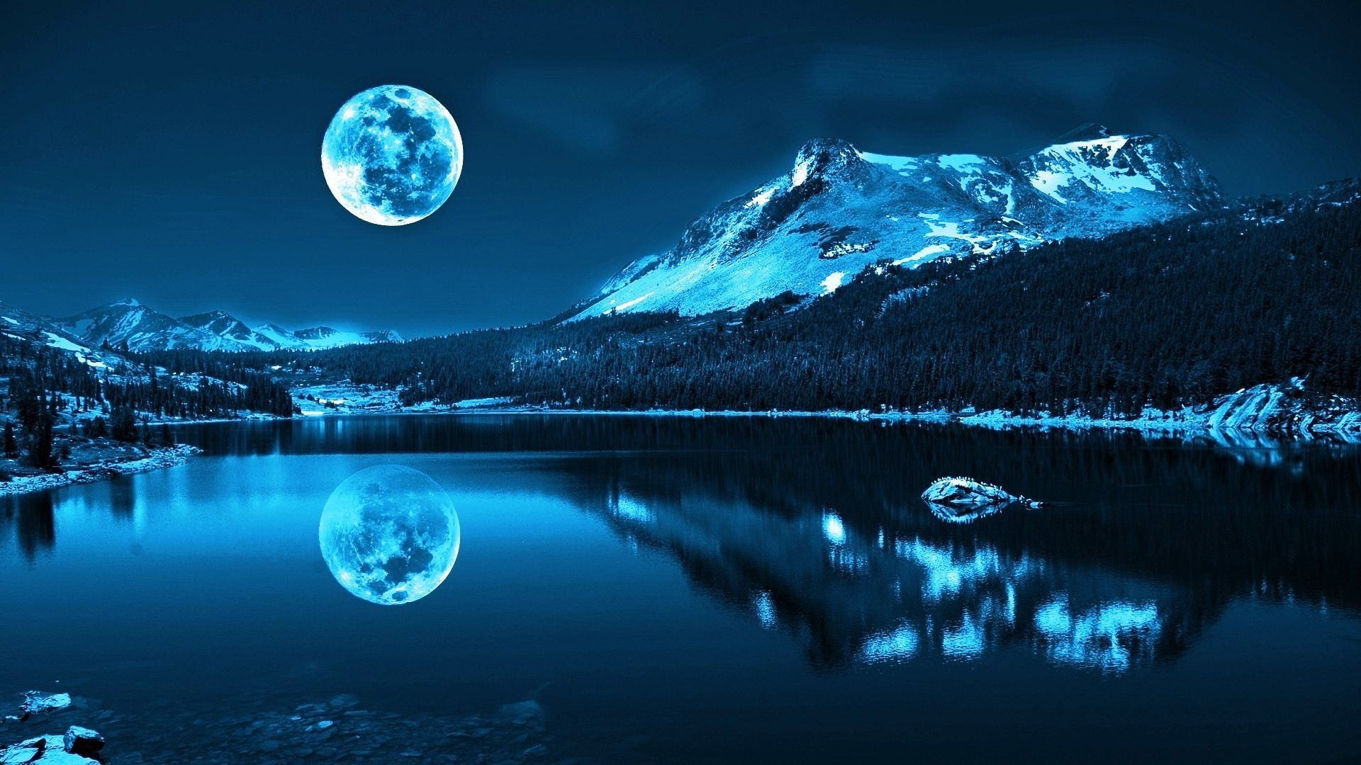 Wallpaper Moonlight 1