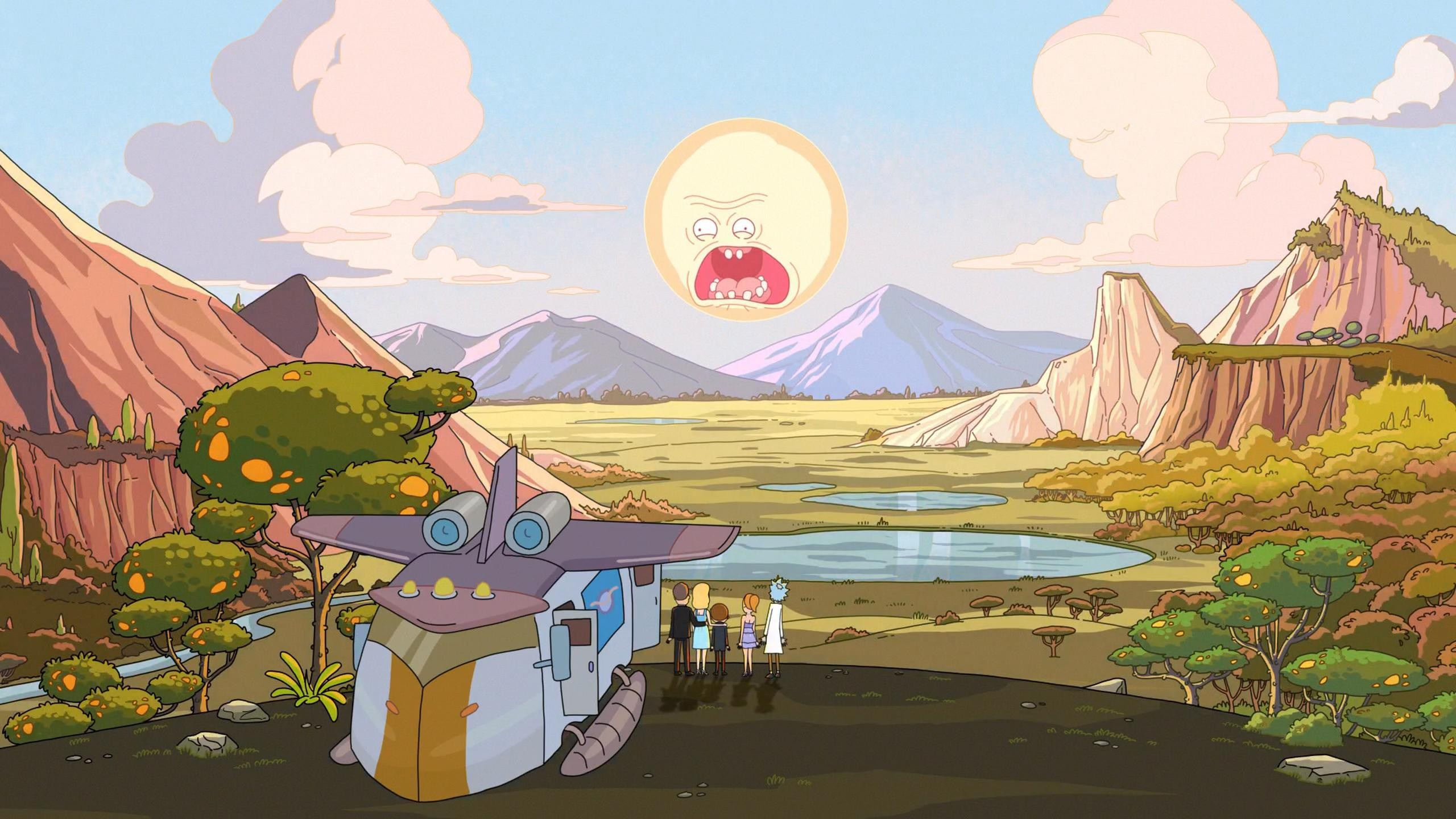 Rick And Morty Wallpaper ① Download Free Hd Wallpapers Of Rick And