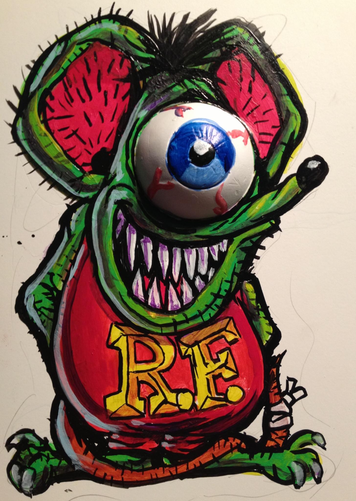 Rat Fink Wallpapers ·① WallpaperTag