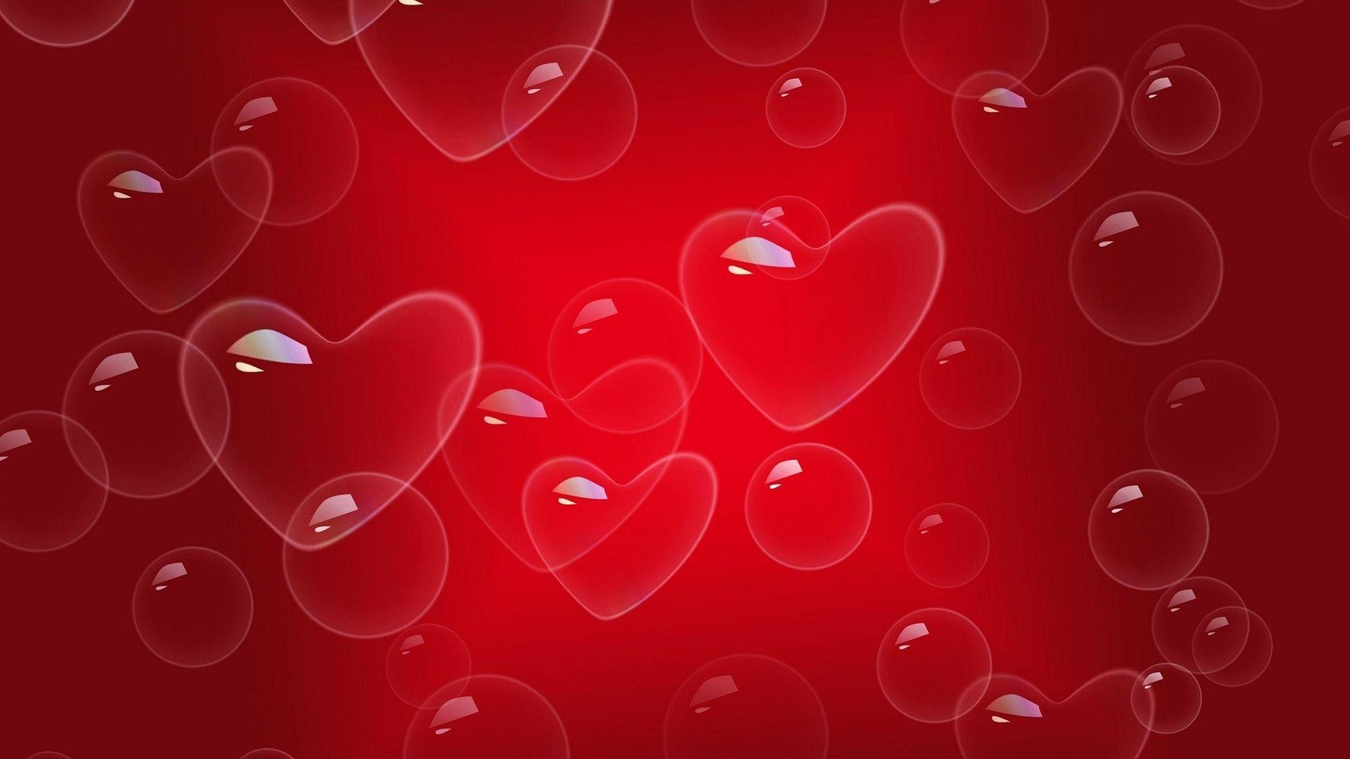 Red Heart Love Wallpaper: Red Heart Wallpapers ·①