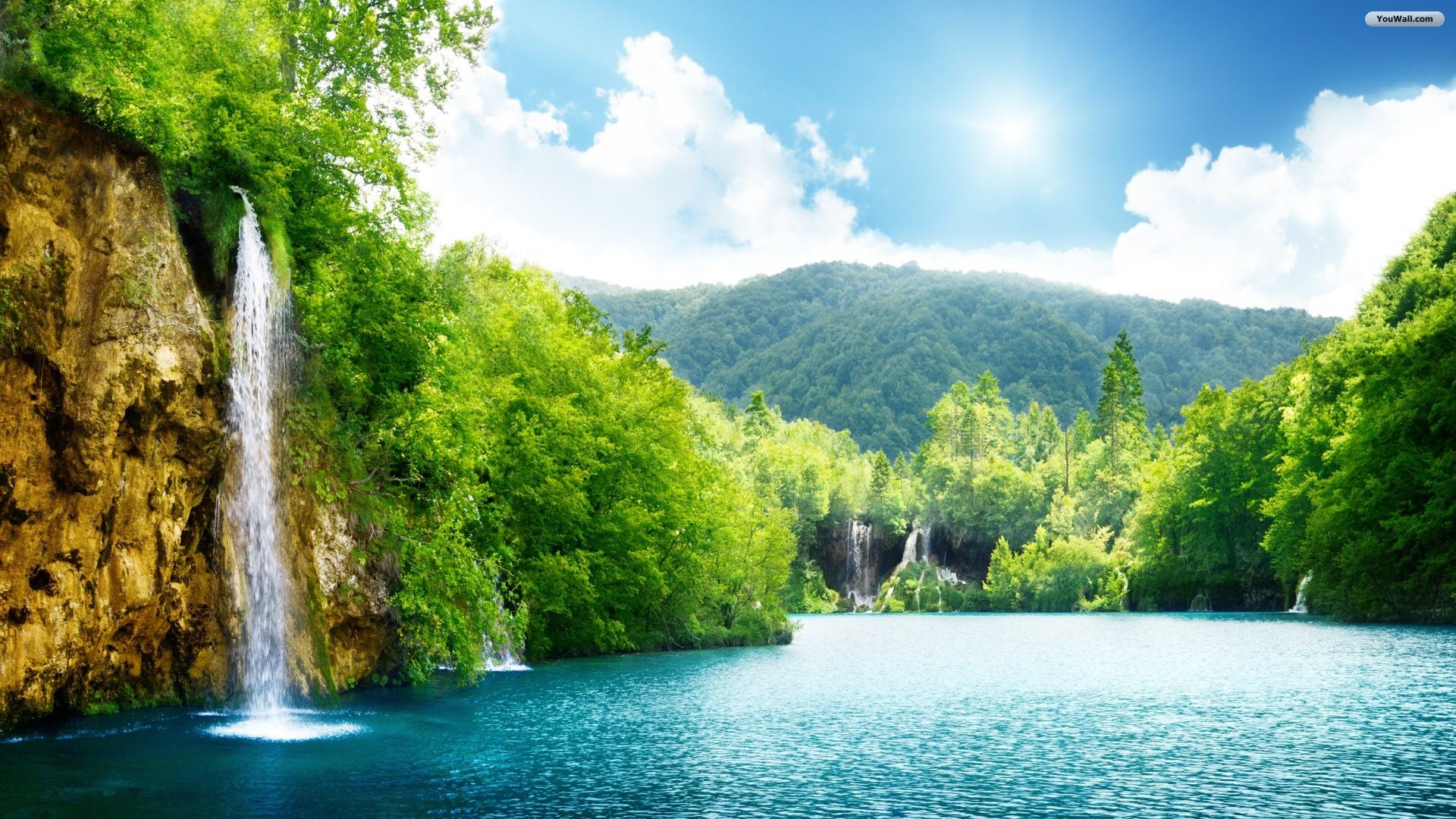 Waterfall Desktop Wallpaper ·① WallpaperTag