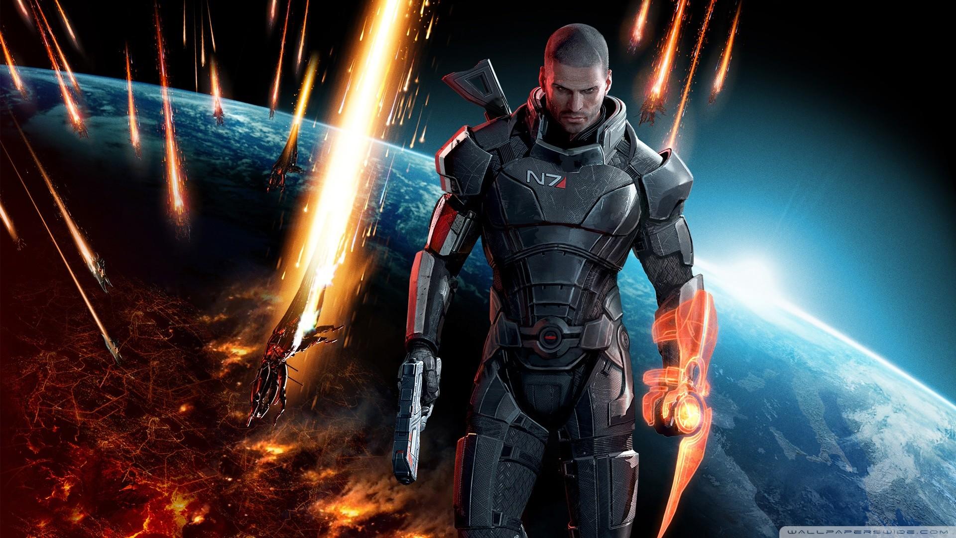 Mass Effect Desktop Backgrounds: Mass Effect Desktop Background ·① WallpaperTag