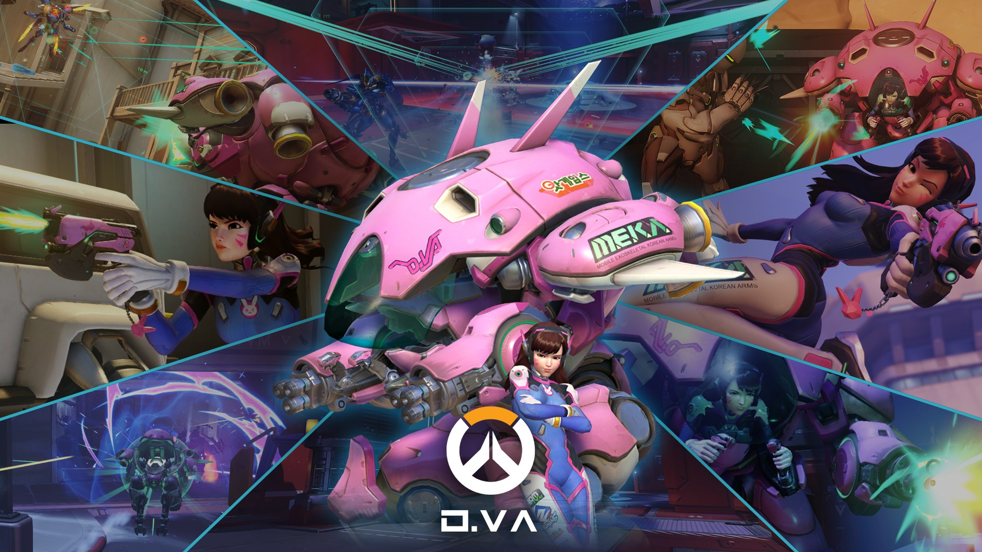 D.Va wallpaper ·① Download free awesome High Resolution ...