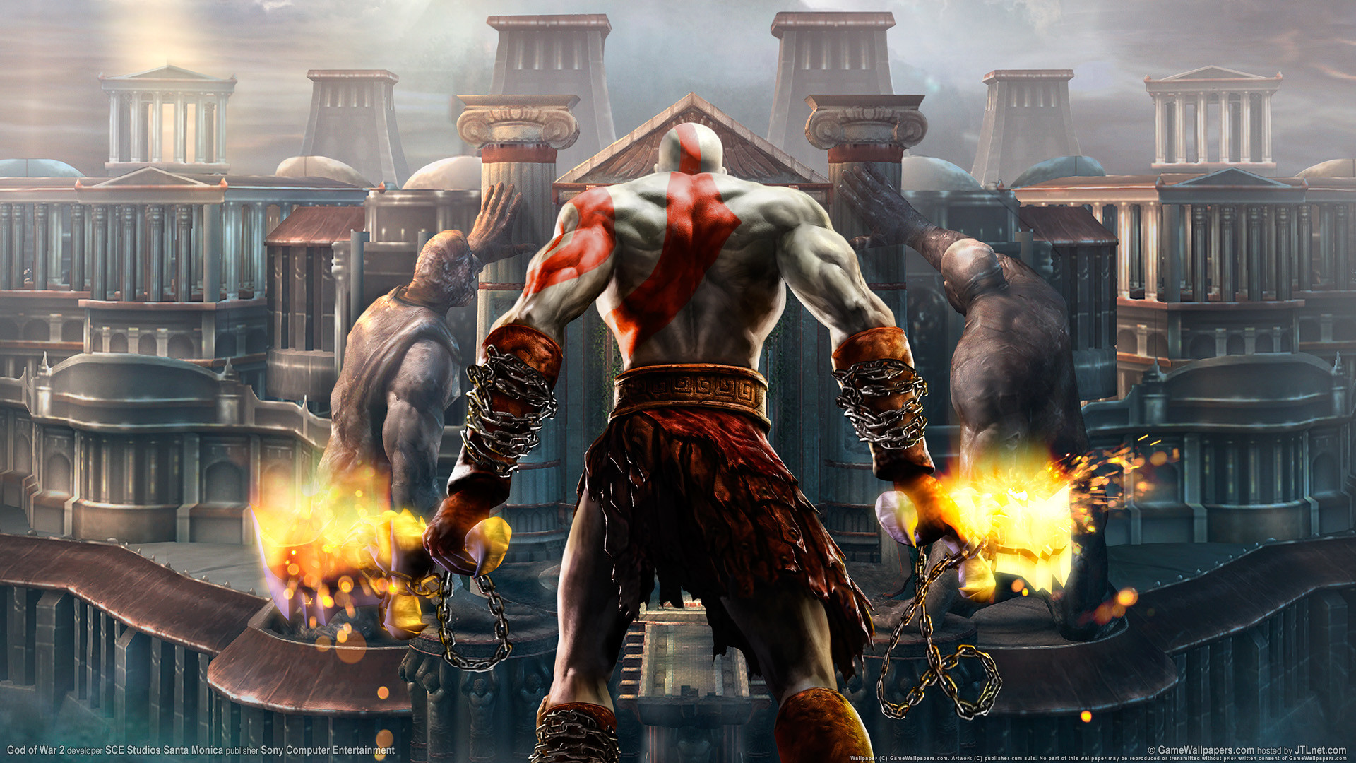 God Of War Wallpaper Hd Wallpapertag