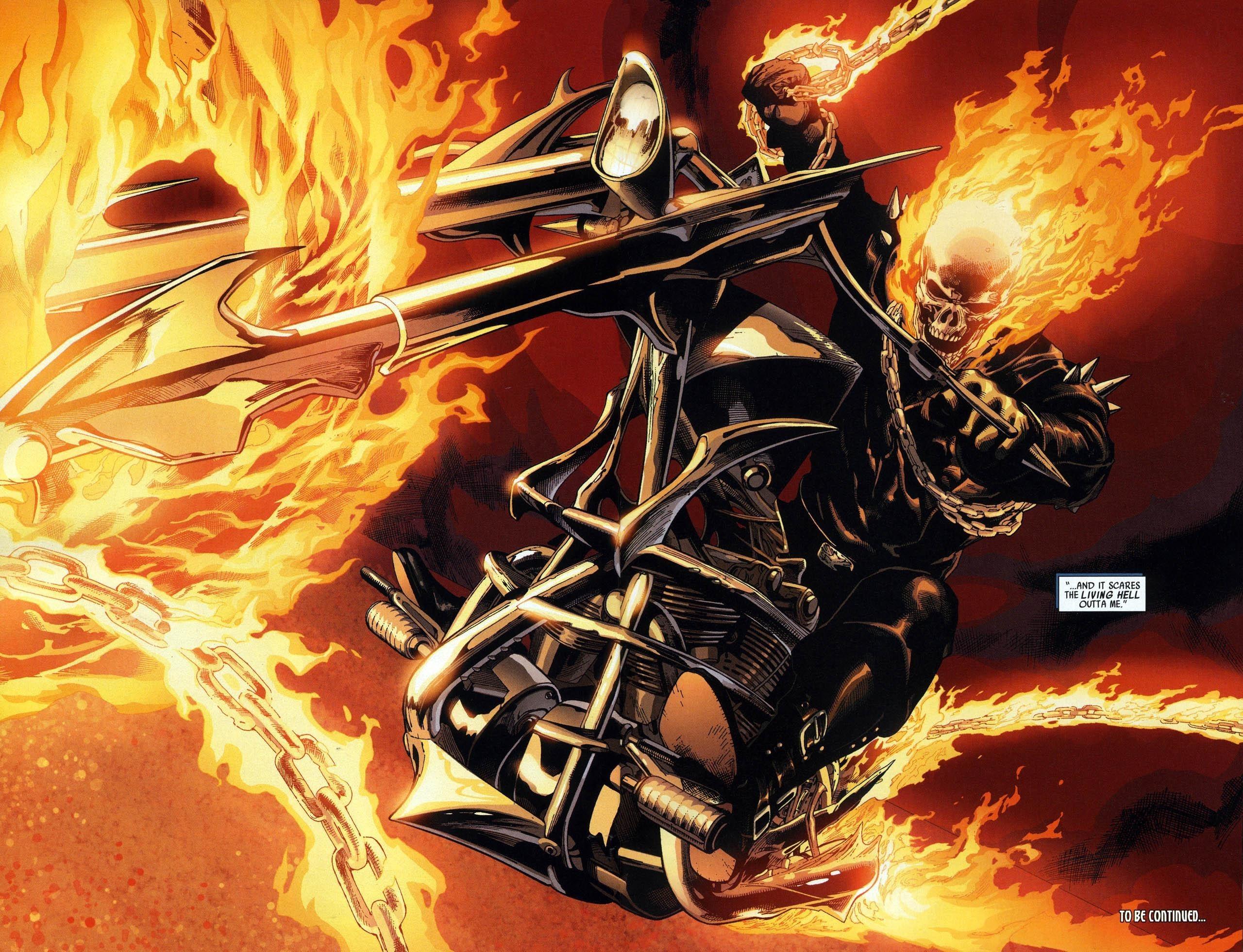 Ghost Rider 2 3d Wallpaper Labzada