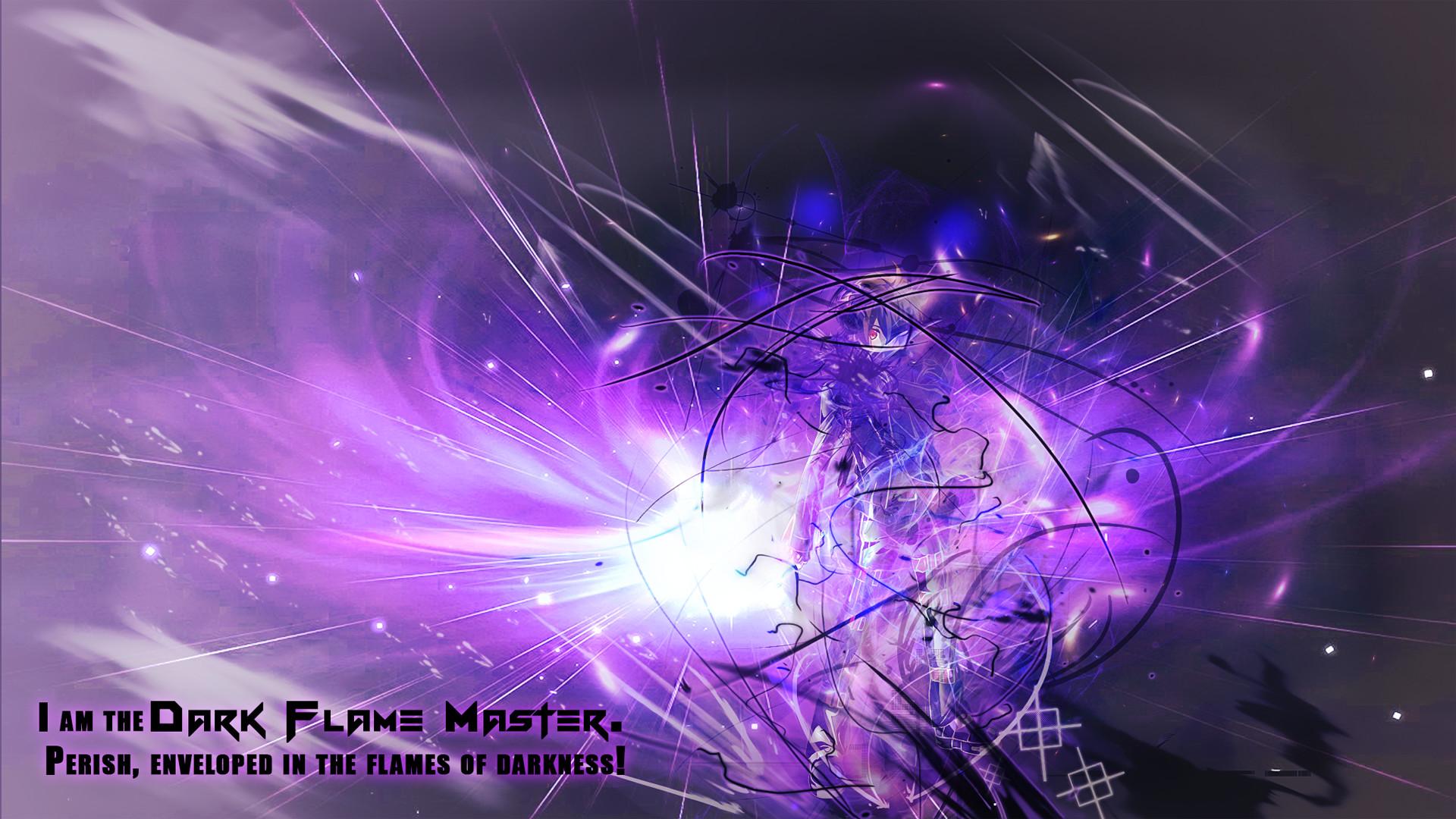 Purple flames background