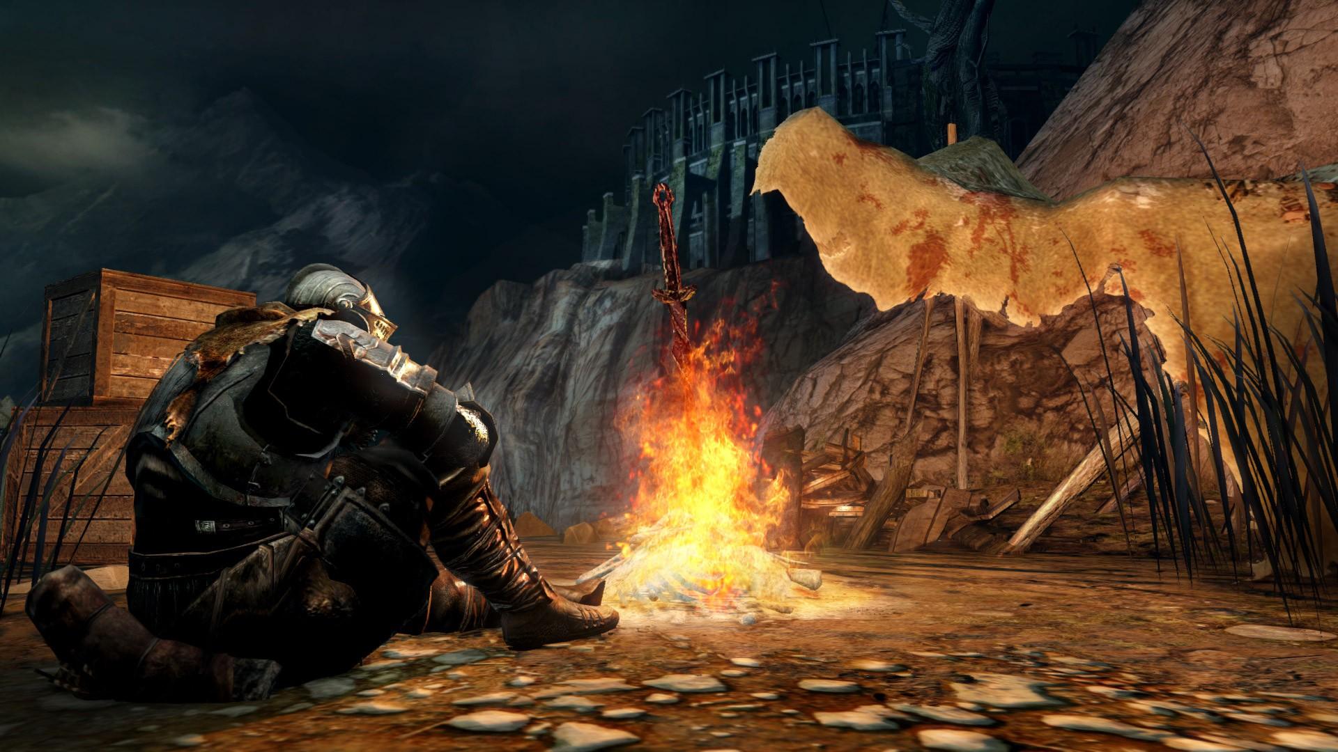 Dark Souls Bonfire Wallpaper