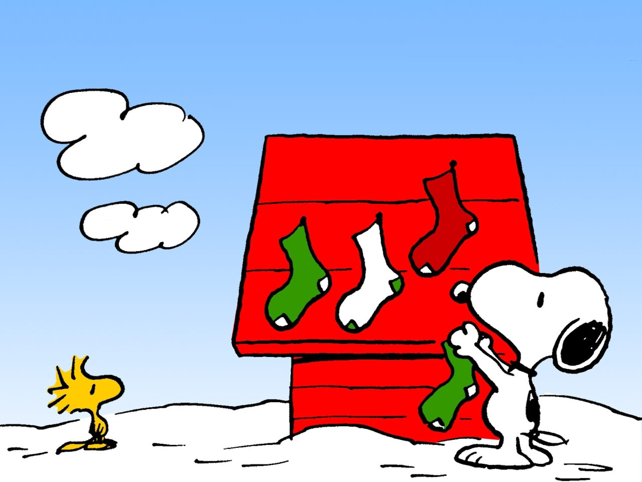 2560x1920 Charlie Brown Peanuts Comics Snoopy Christmas Rw Wallpaper .