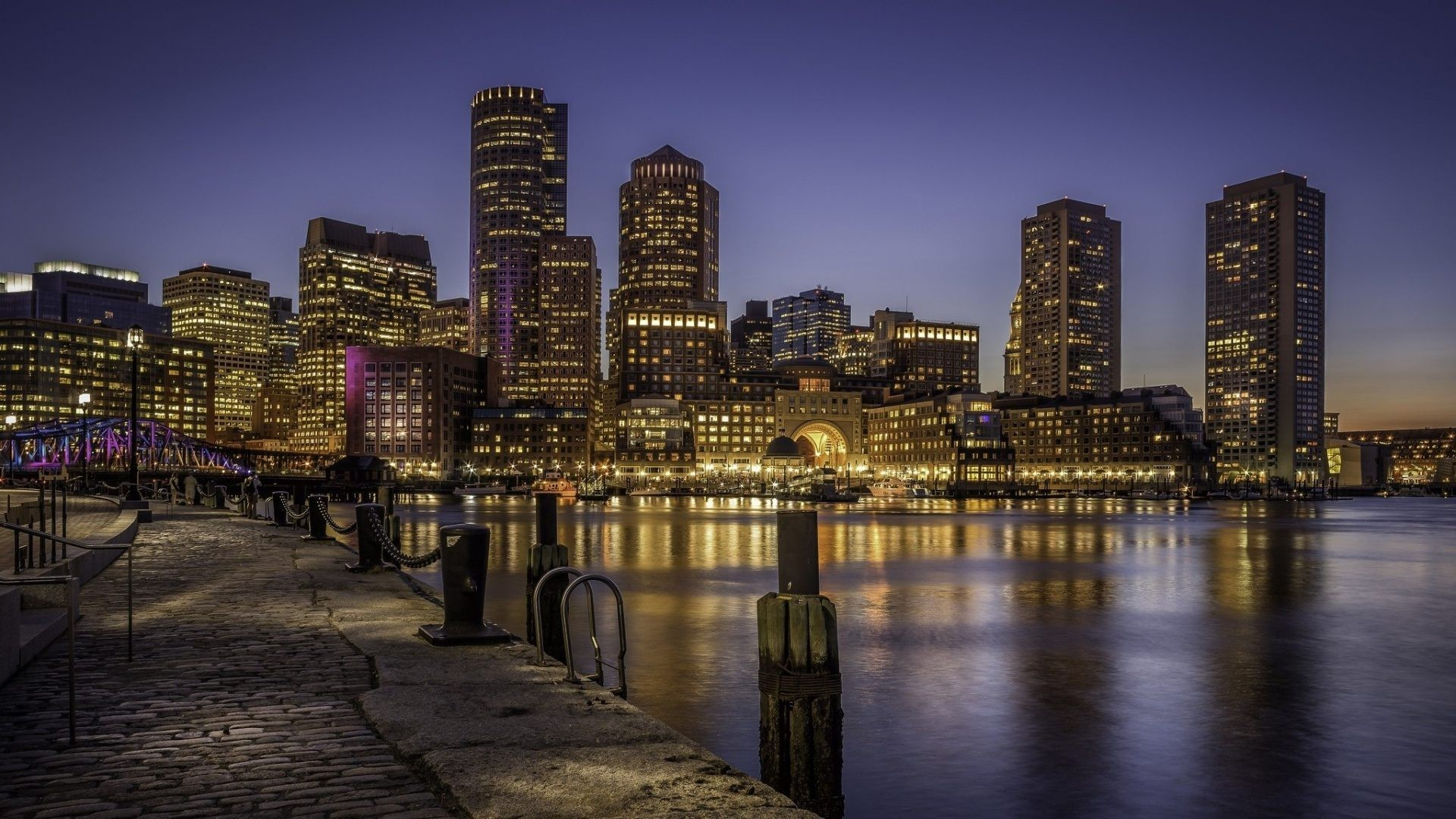 boston skyline wallpaper 183��