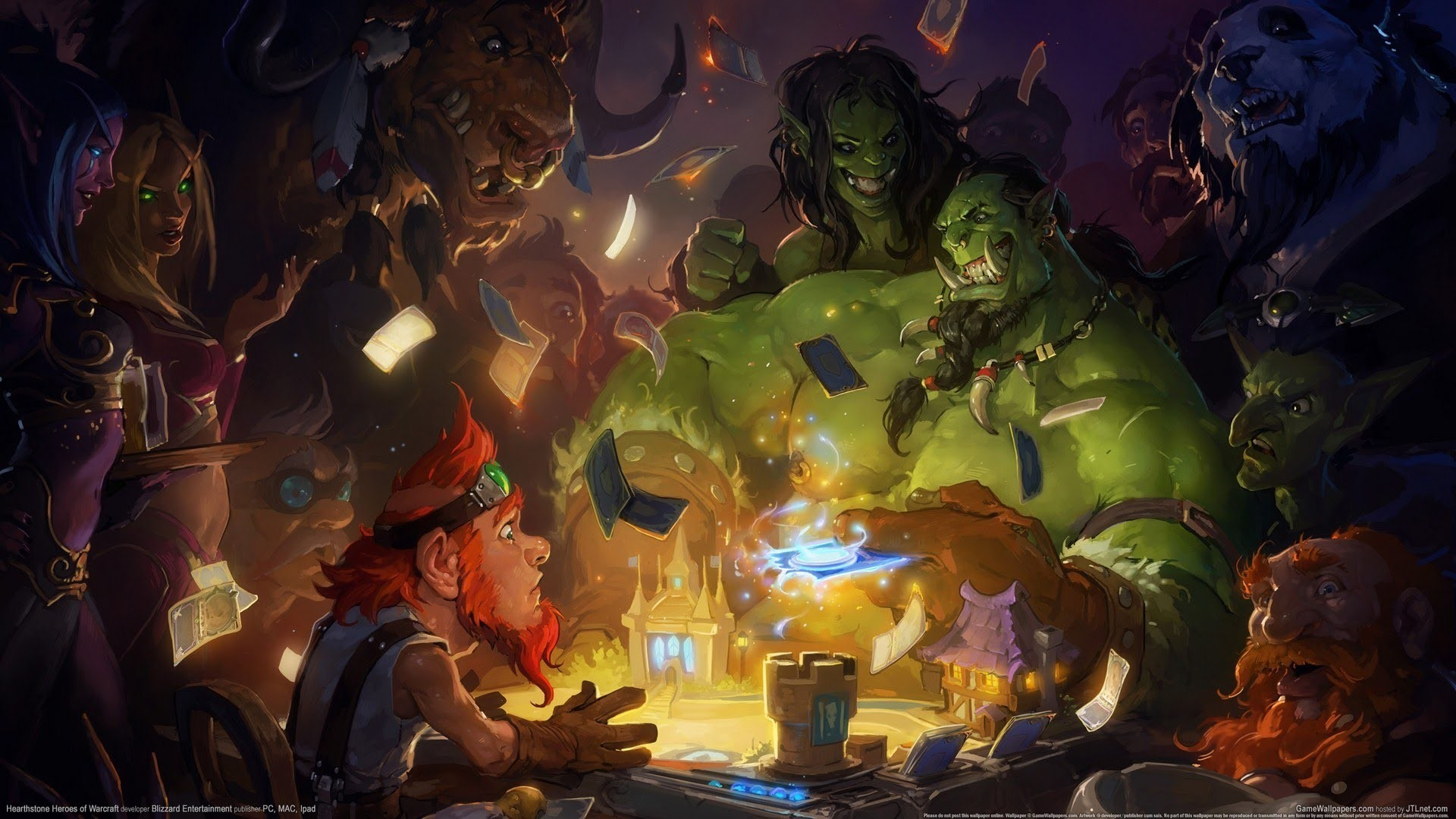 Hearthstone Heroes Of Warcraft Wallpapers Wallpapertag