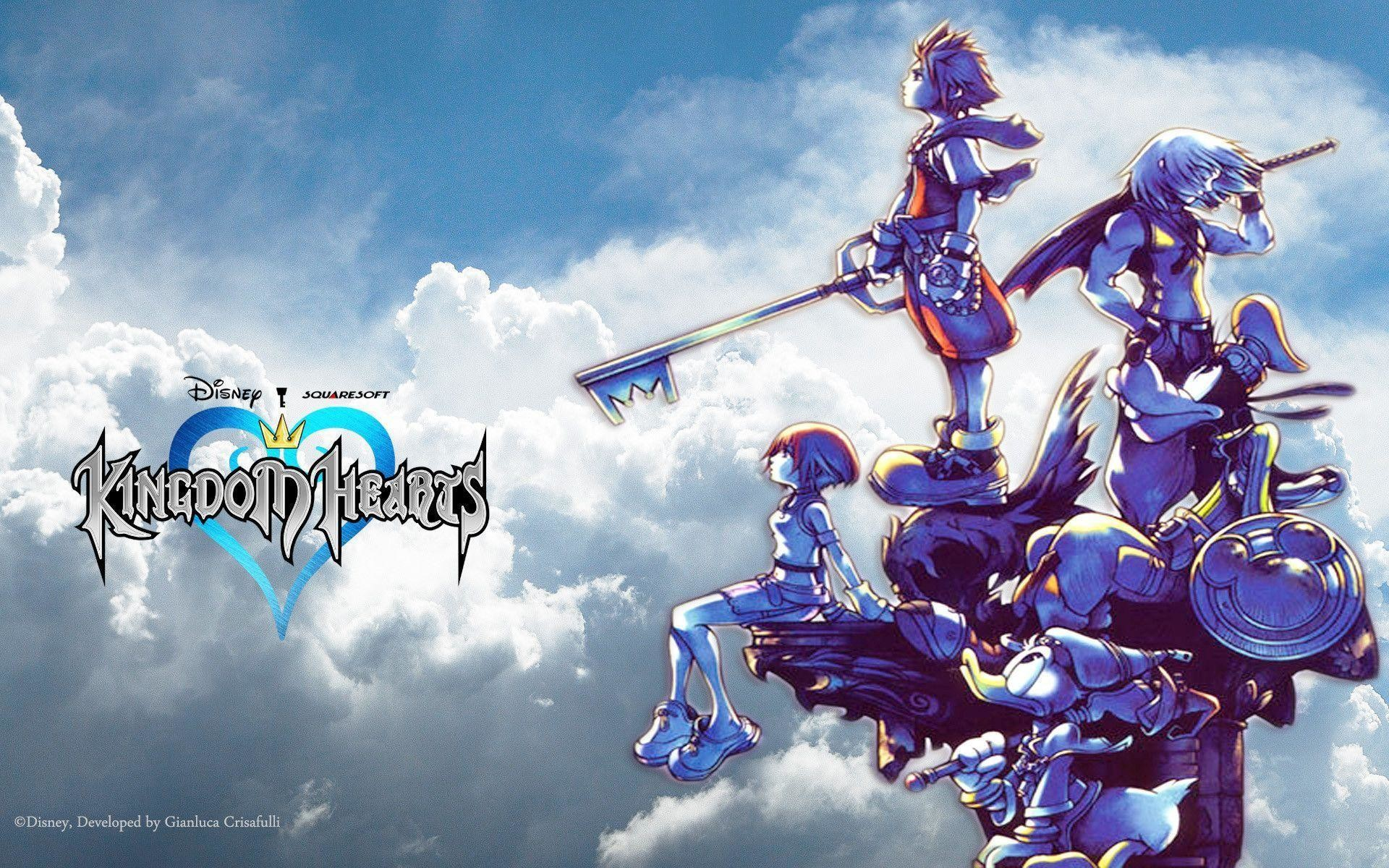 Kingdom Hearts Wallpapers Hd Wallpapertag