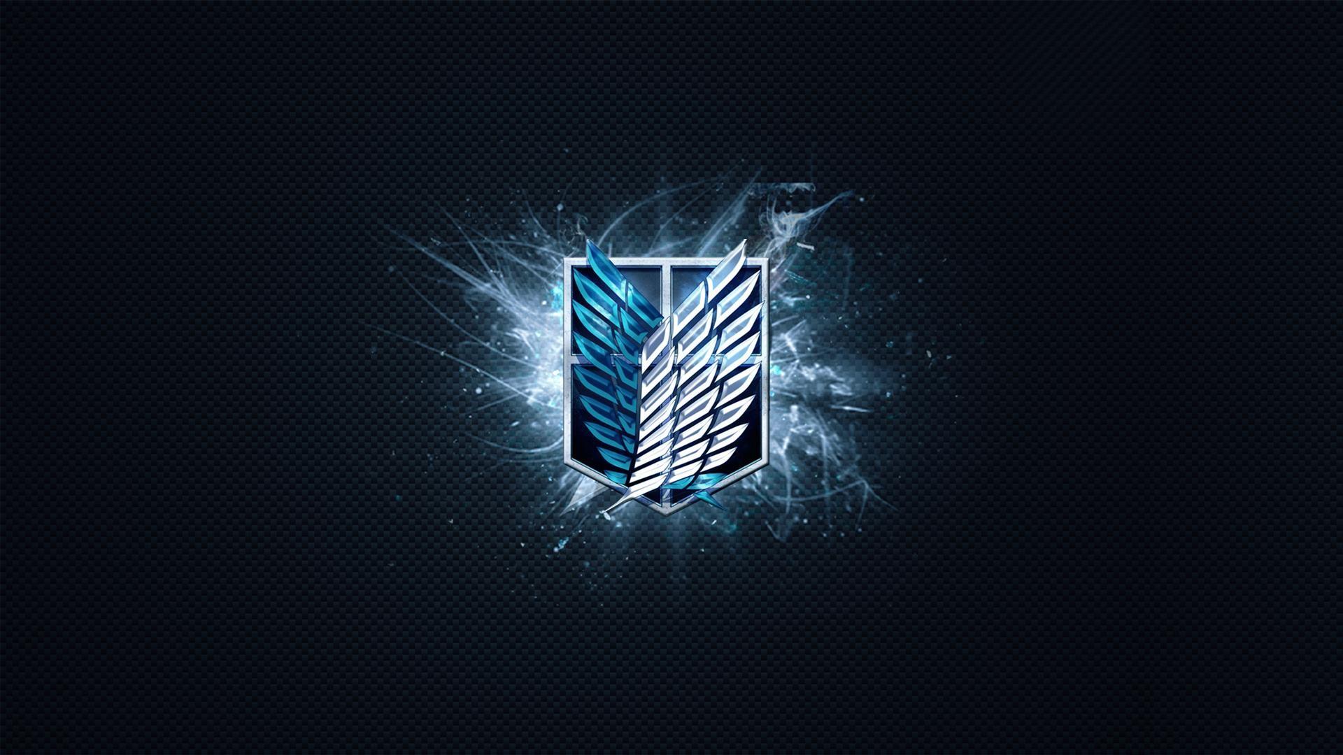Attack On Titan Logo Wallpaper Wallpapertag