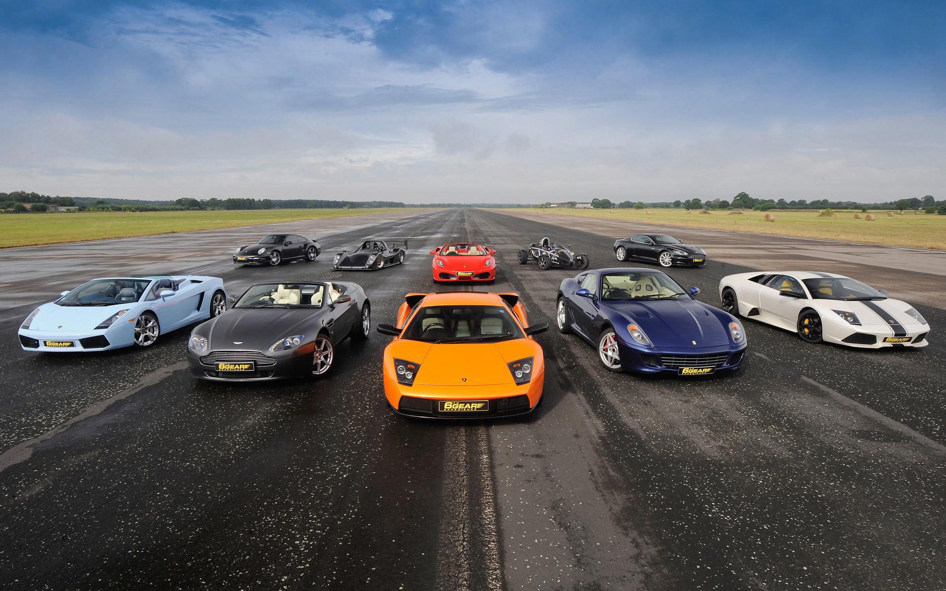 1920x1200 6th Gear Racing Cars