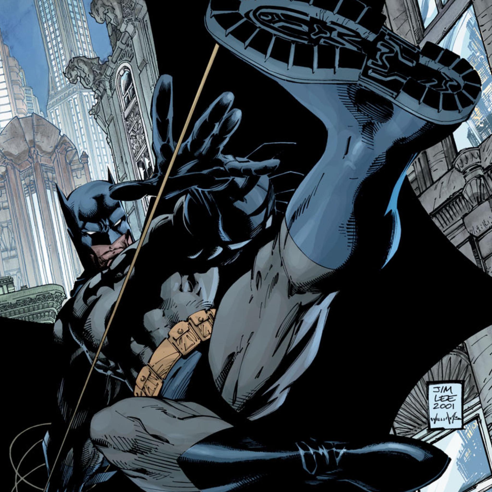 Jim Lee Batman Wallpaper ·① Batman Comic Cover Wallpaper