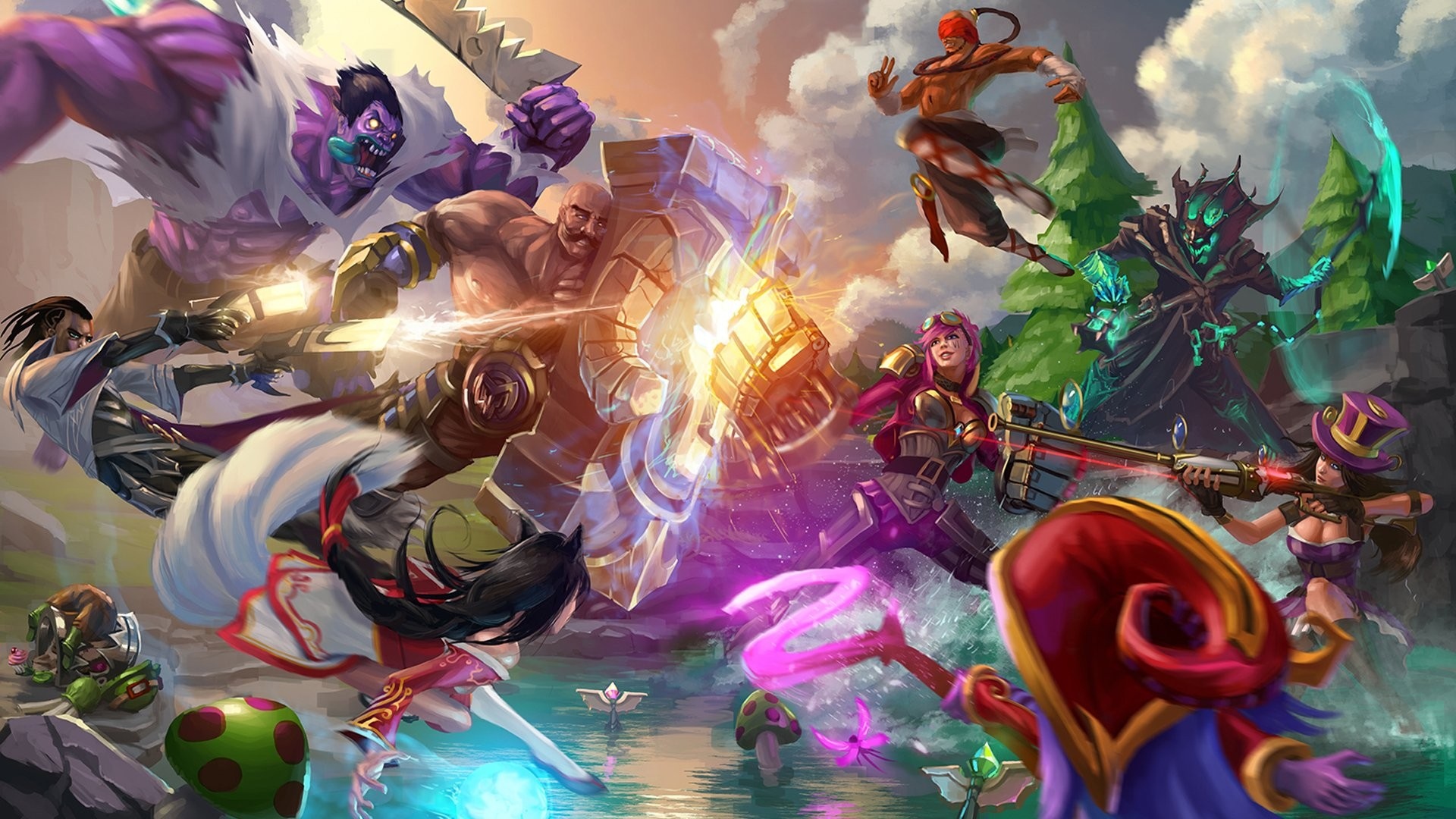 League Of Legends Wallpaper HD ·① Download Free Awesome