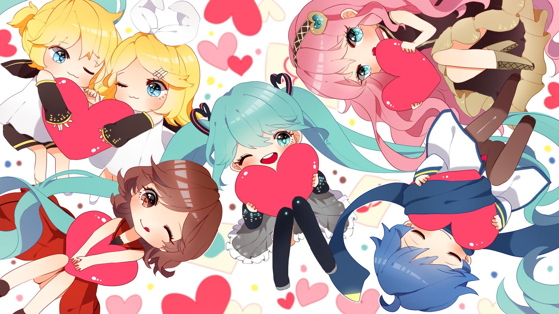 Anime Chibi Wallpaper ·① WallpaperTag