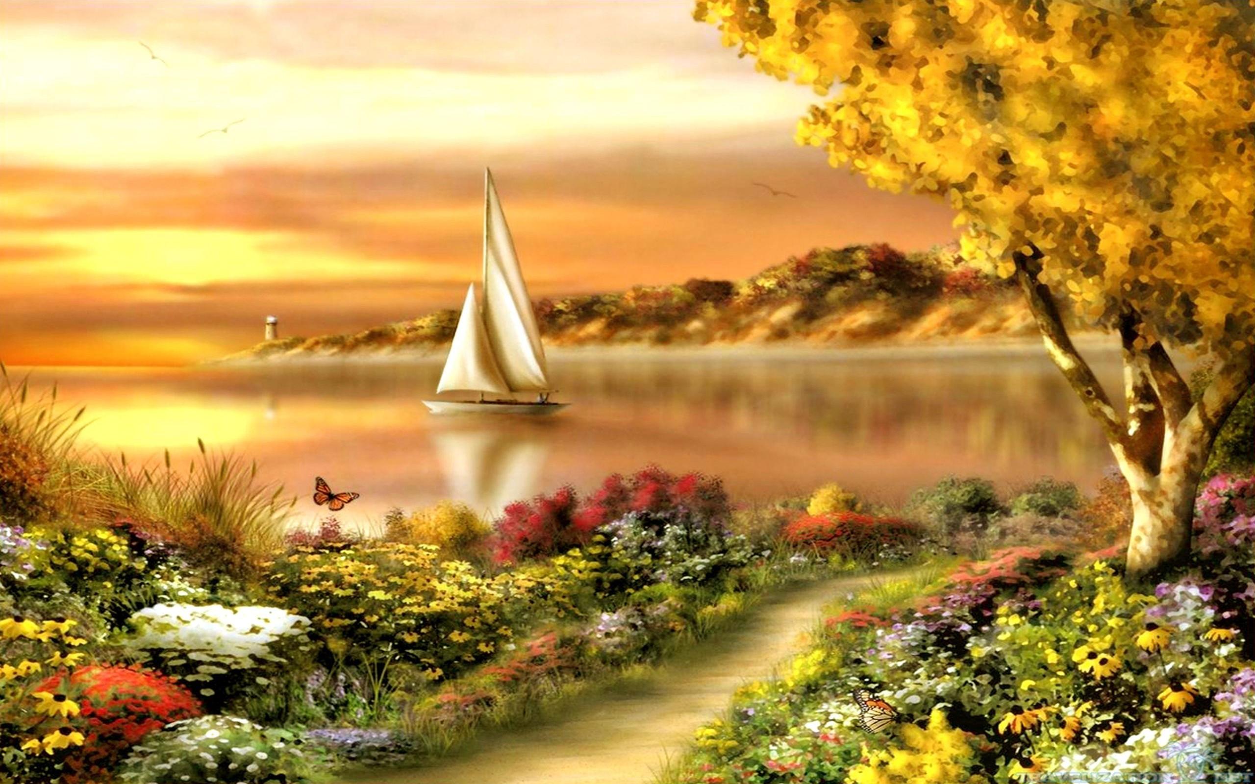 Free Beautiful Wallpapers - Wallpaper Cave  Beautiful Summer Scenes