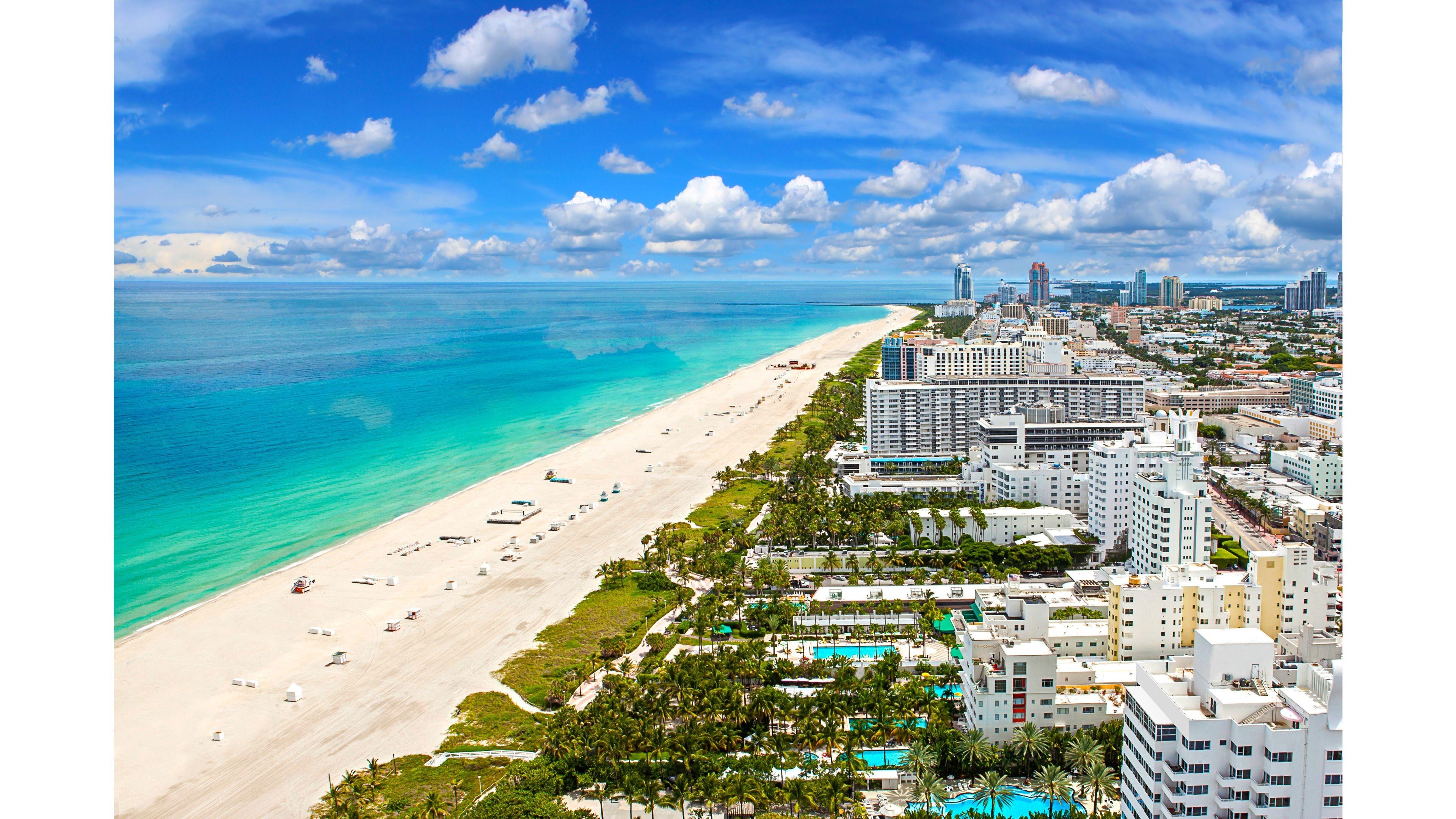 Miami Beach Wallpaper 1